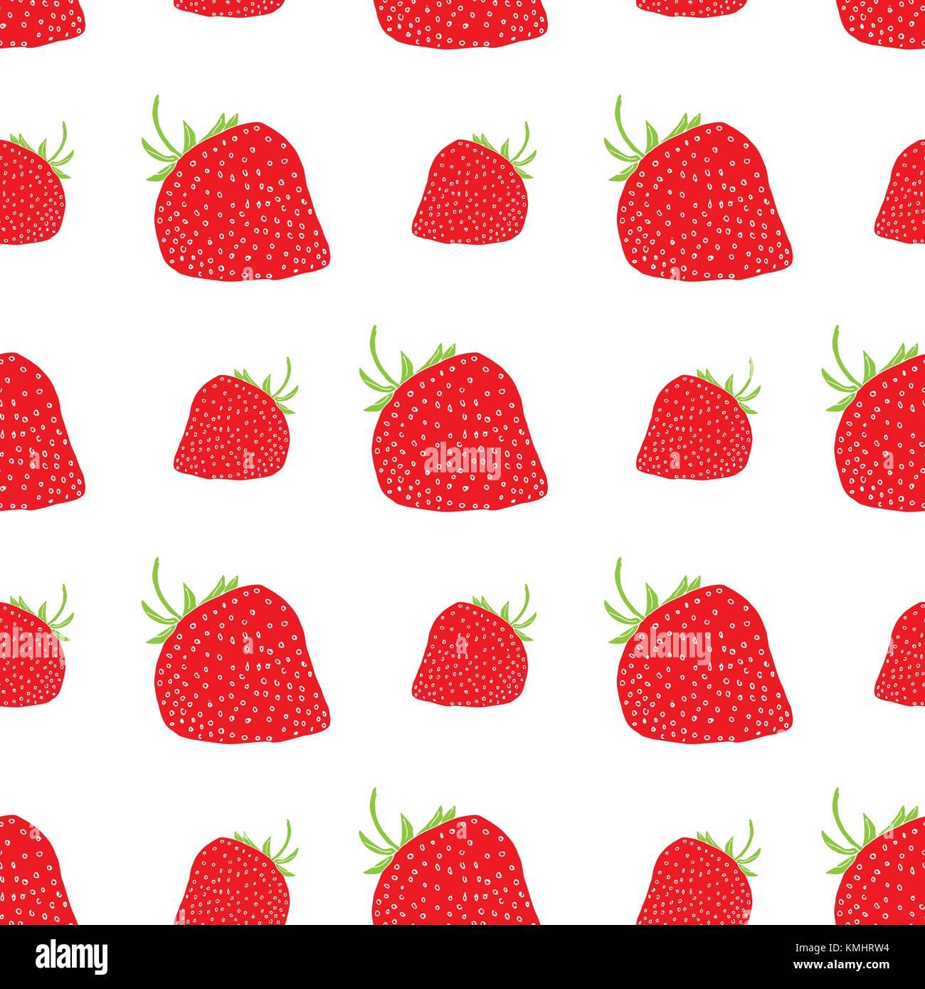 Jam Label Design vorlage. Für strawberry Dessert Produkt mit Hand ...