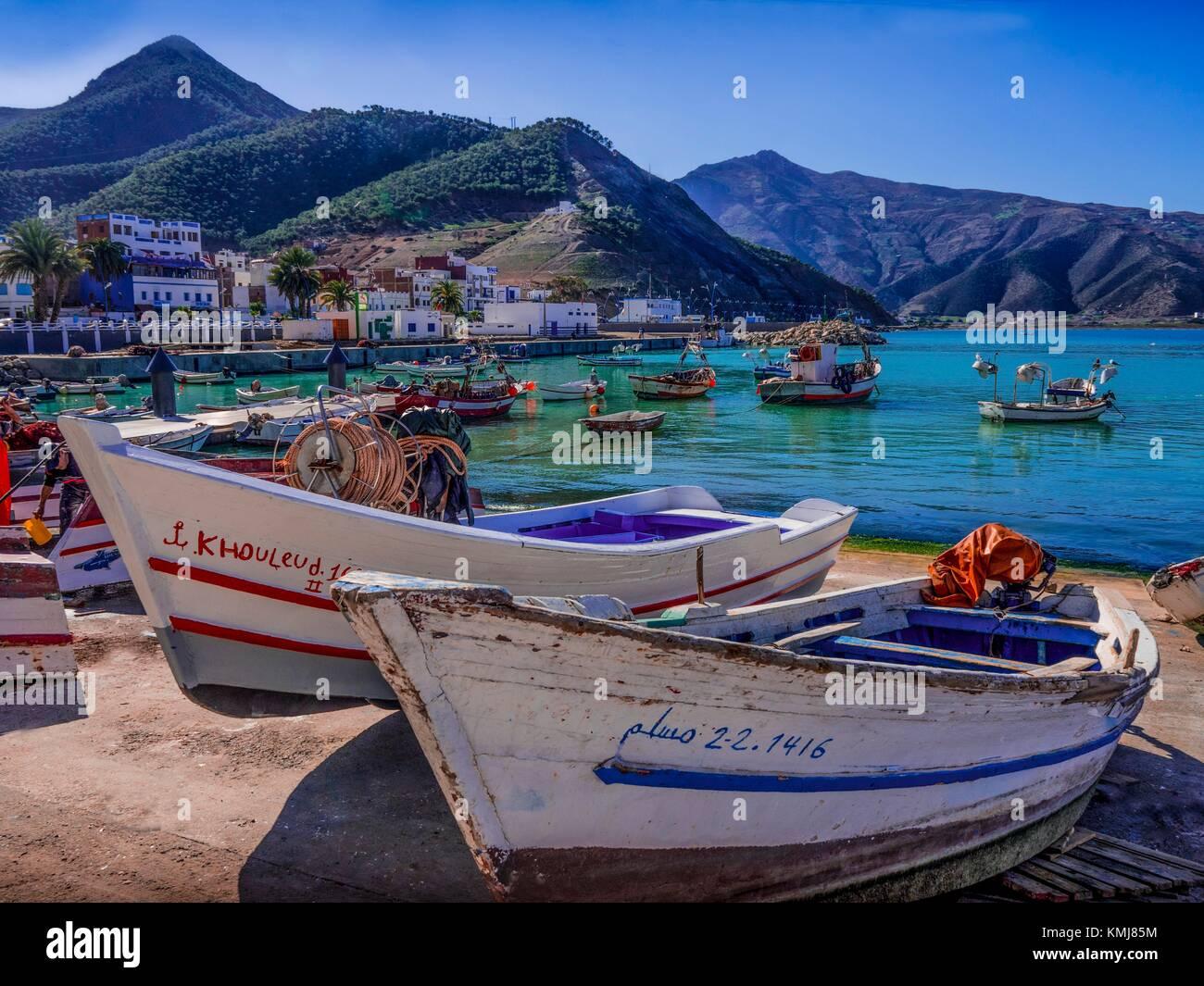 Marokko, Sheba, an der Mittelmeerküste. Stockfoto