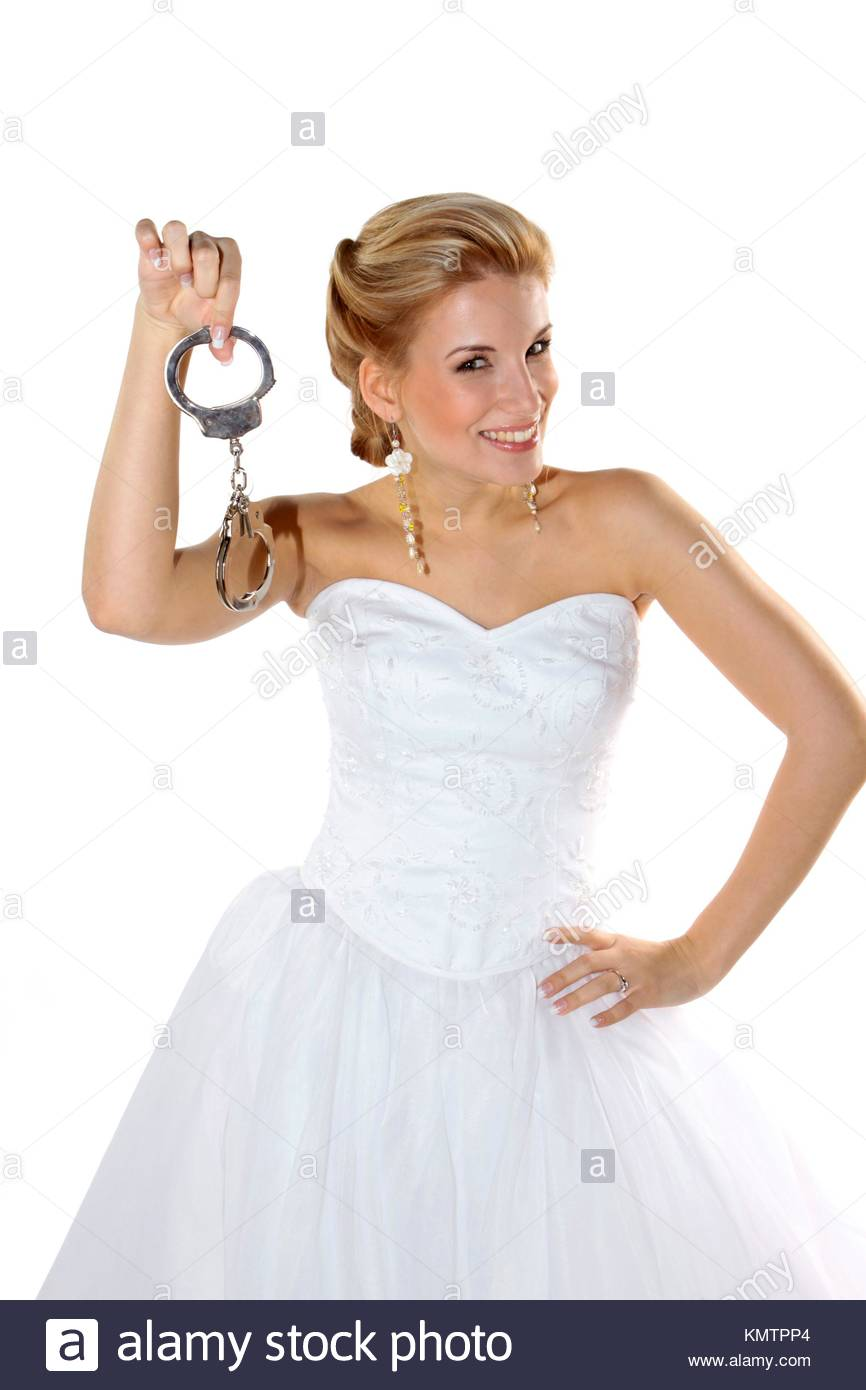 Woman With Handcuffs Stockfotos & Woman With Handcuffs Bilder ...