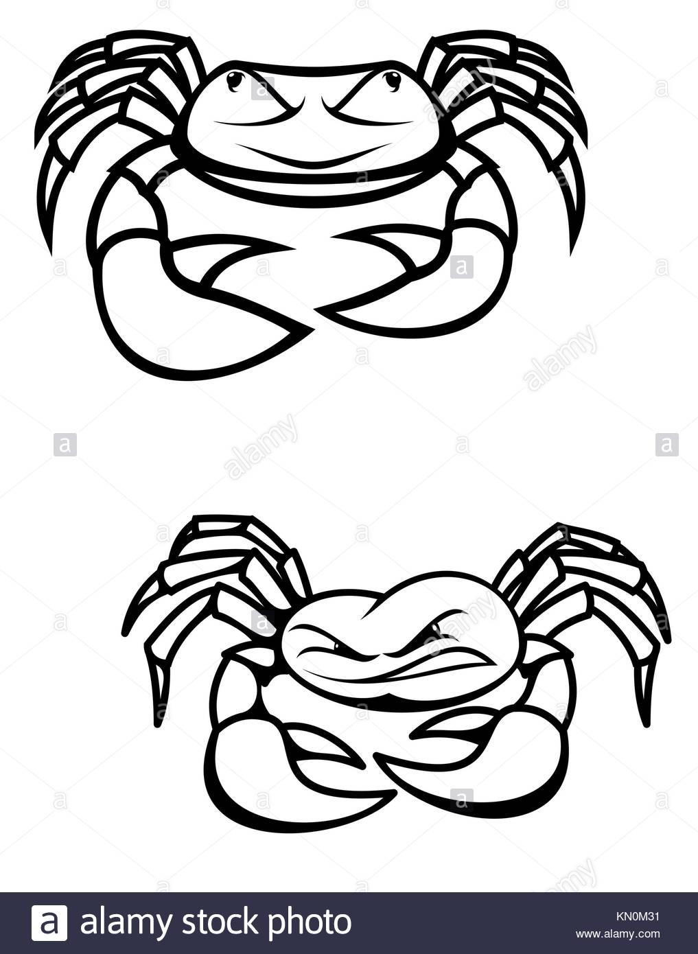 Cute Crab Cartoon Stockfotos & Cute Crab Cartoon Bilder - Seite 3 ...