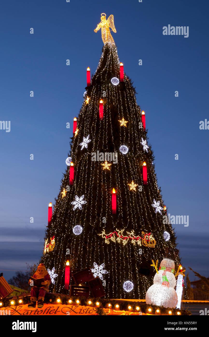Dortmund Weihnachtsbaum.Weihnachtsbaum Auf Dem Weihnachtsmarkt Dortmund Ruhrgebiet