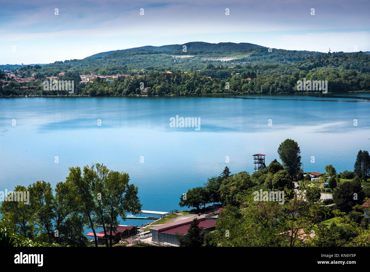 Varese Italien lago di varese stockfotos lago di varese bilder alamy