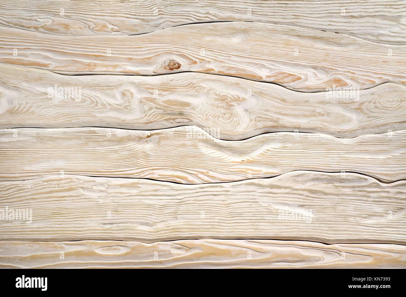 Alte licht Holz- Board einer weiß lackiert Farbe Stockfoto, Bild ...