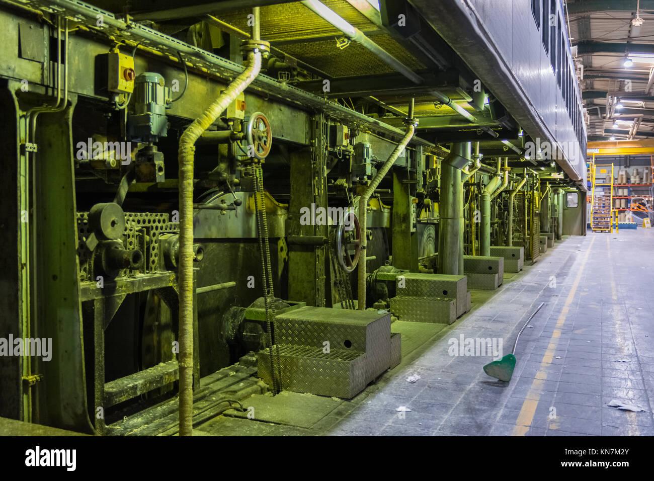 Papierfabrik rotational trockner trommeln zylinder gehäuse