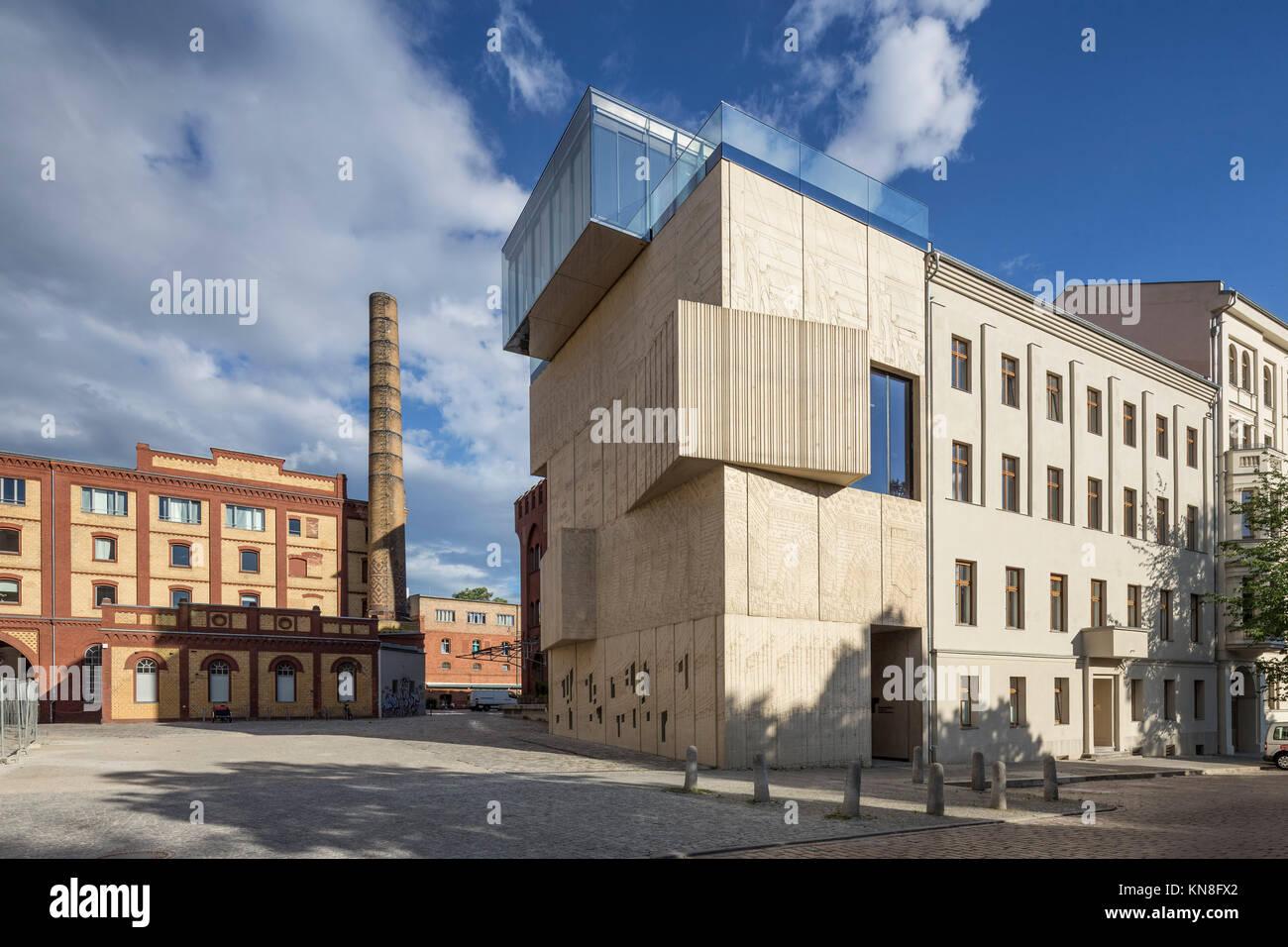 Tchoban Stiftung, Museum für architektonische Zeichnung, Prenzlauer Berg, Berlin Stockbild
