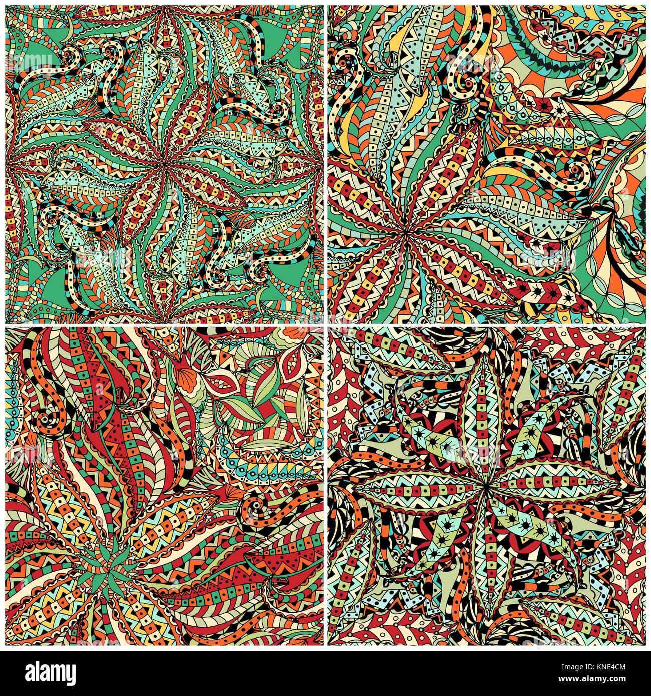 luxus orientalische fliesen nahtlose muster bunte mit blumenmustern patchwork hintergrund mandala boho chic stil reich blume ornament - Boho Muster
