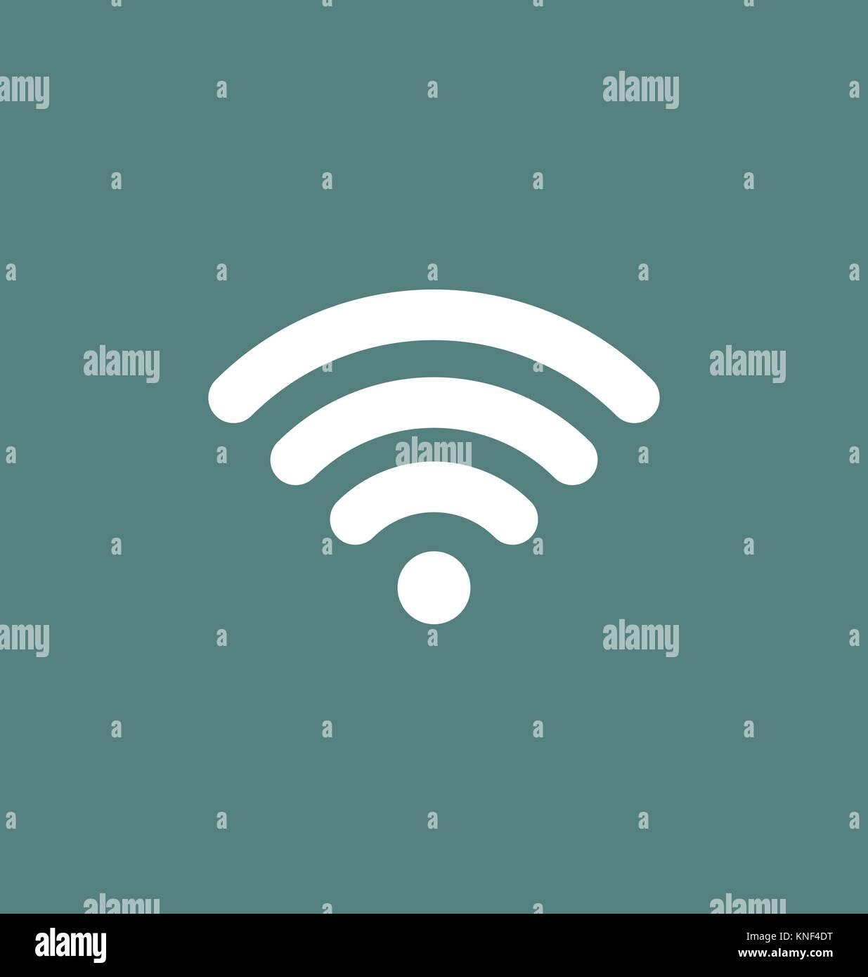 Wlan Symbol Verbindung. Wlan Signal/coverage Symbol vektor ...