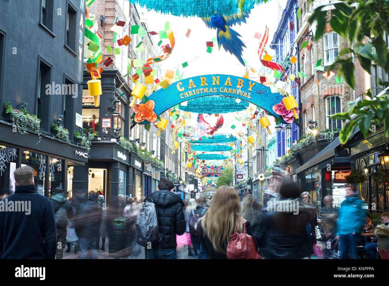 Carnaby Street, London Stockfoto