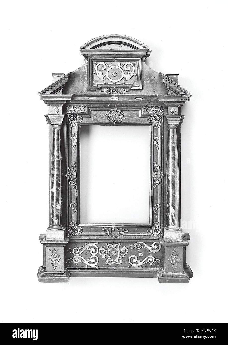 Wohnung Rahmen. Datum: Anfang des 17. Jahrhunderts; Kultur ...