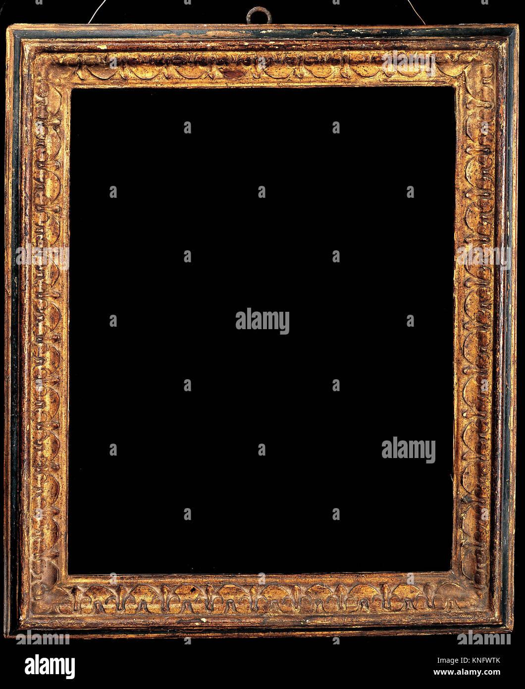 Ogee Rahmen. Datum: 1570-75; Kultur: Italienisch, Florenz; Medium ...