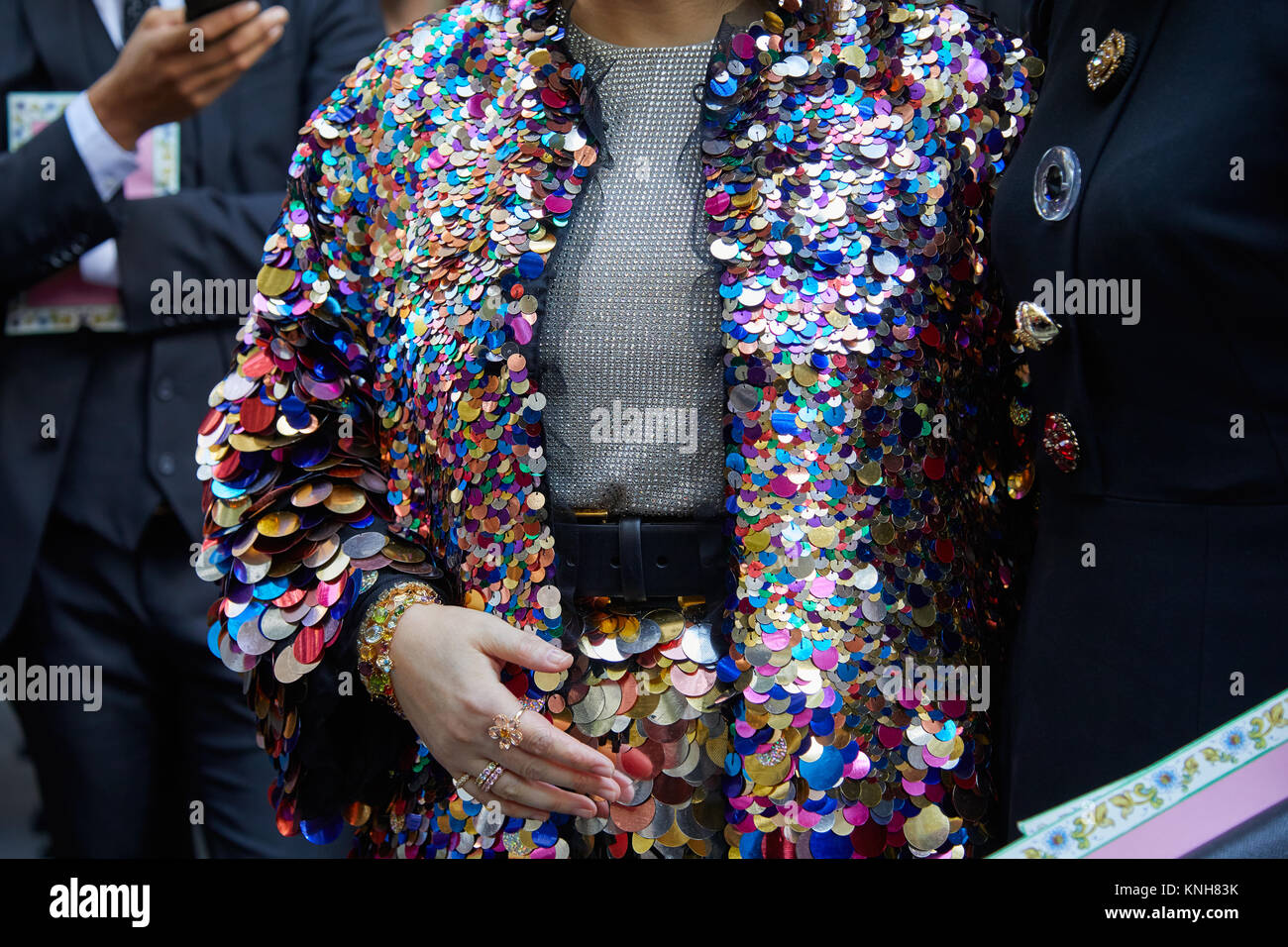 21a871f707f1 Sequin Jacket Stockfotos & Sequin Jacket Bilder - Alamy