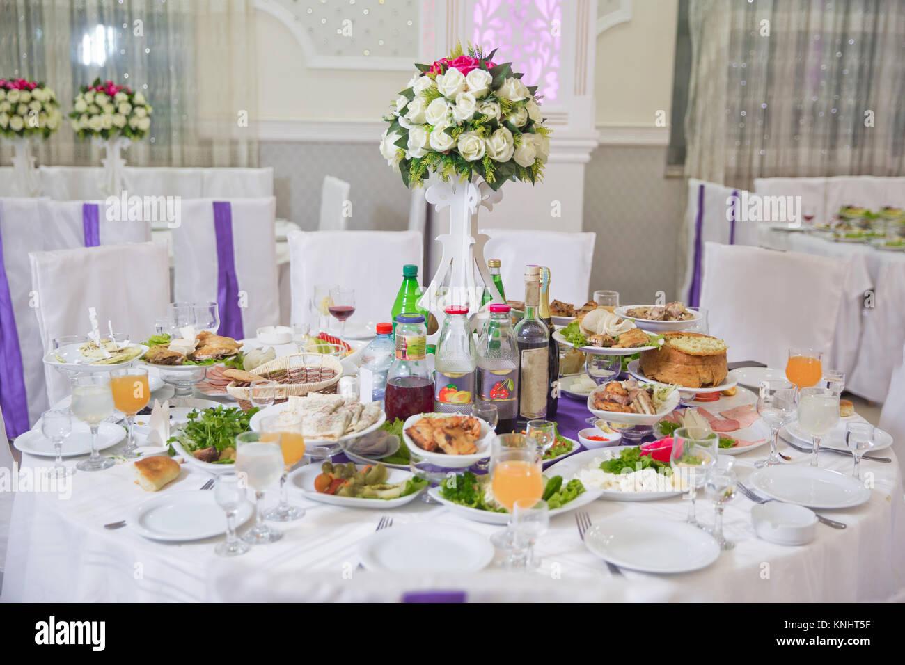 Hochzeit Blumen Dekoration Im Restaurant Schone Blumen Auf Dem