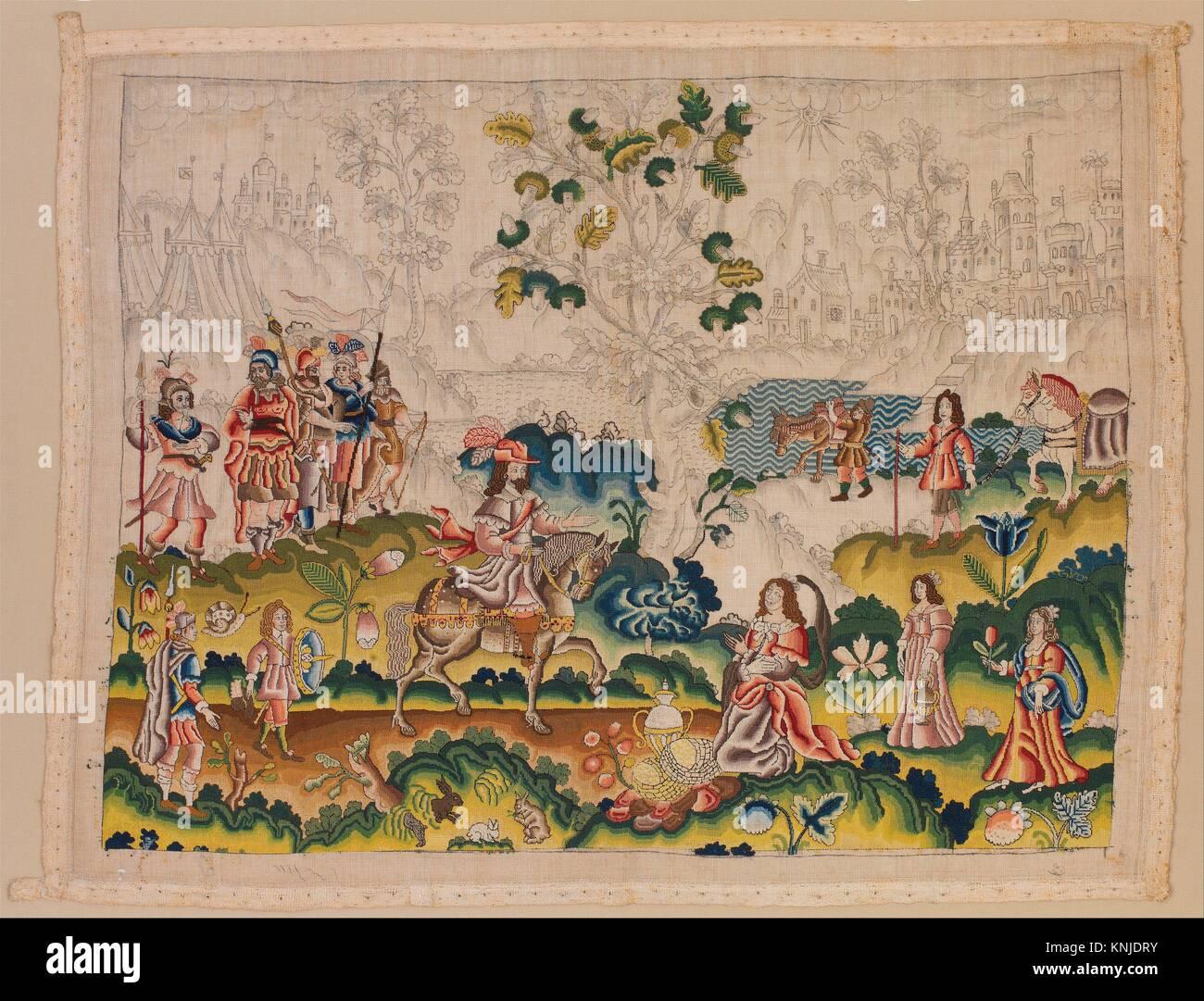David Und Abigail. Datum: Mitte Des 17. Jahrhunderts; Kultur: Briten;