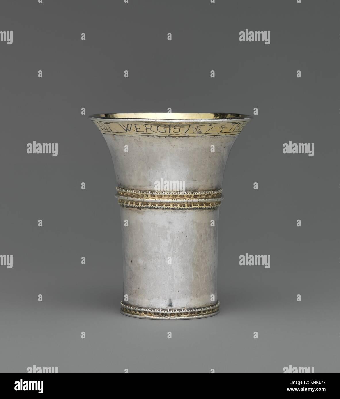 Becher. Schöpfer: zugeschrieben, Valentin (Felten) Dengel (Master 1550, aktive 1550-70); Datum: 1574; Kultur: Stockbild