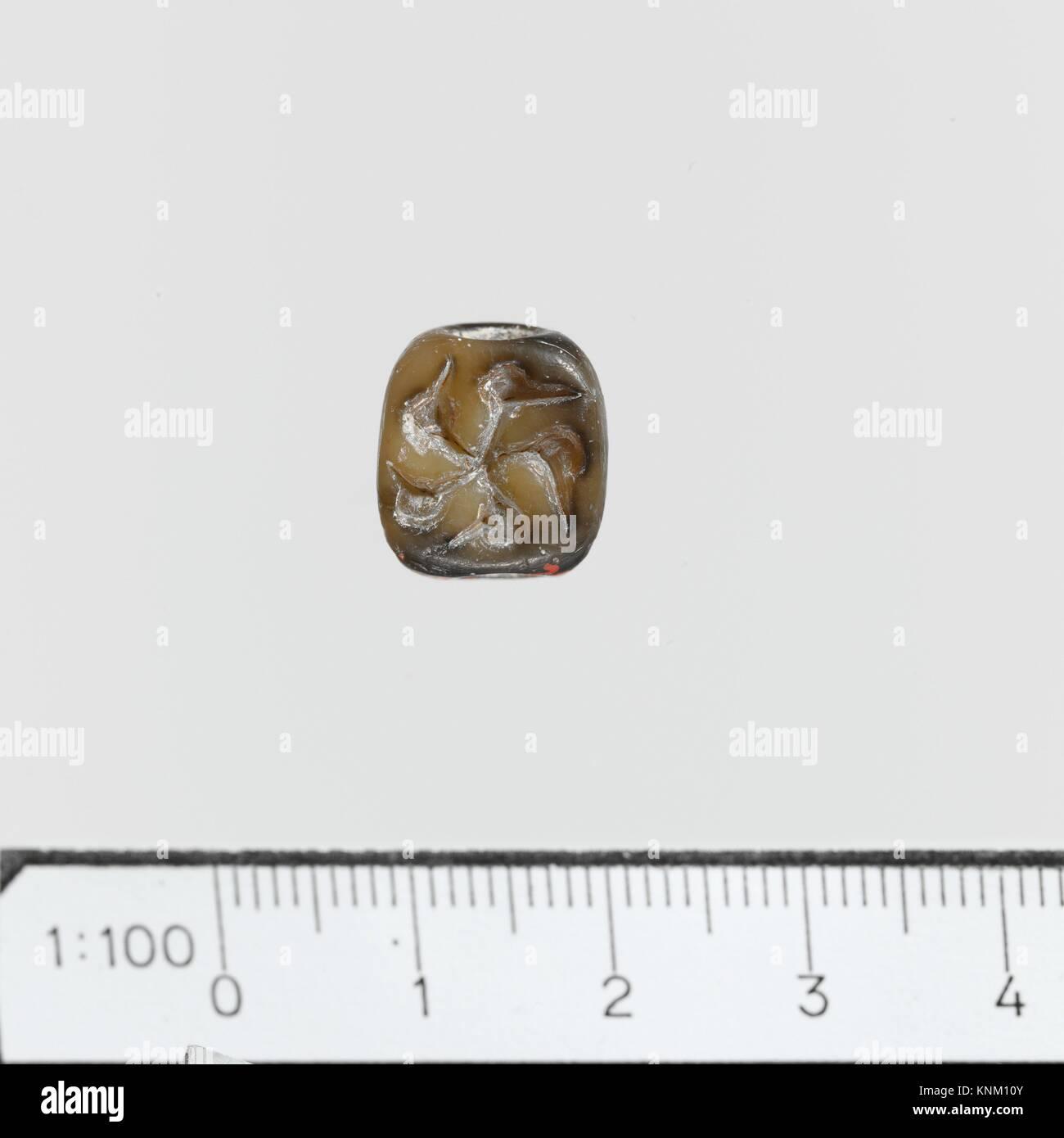 Steatit dreieckige Prisma. Zeitraum: Frühe Minoische III - mittleren minoischen ICH; Datum: Ca. 2400-1900 B.C; Stockbild