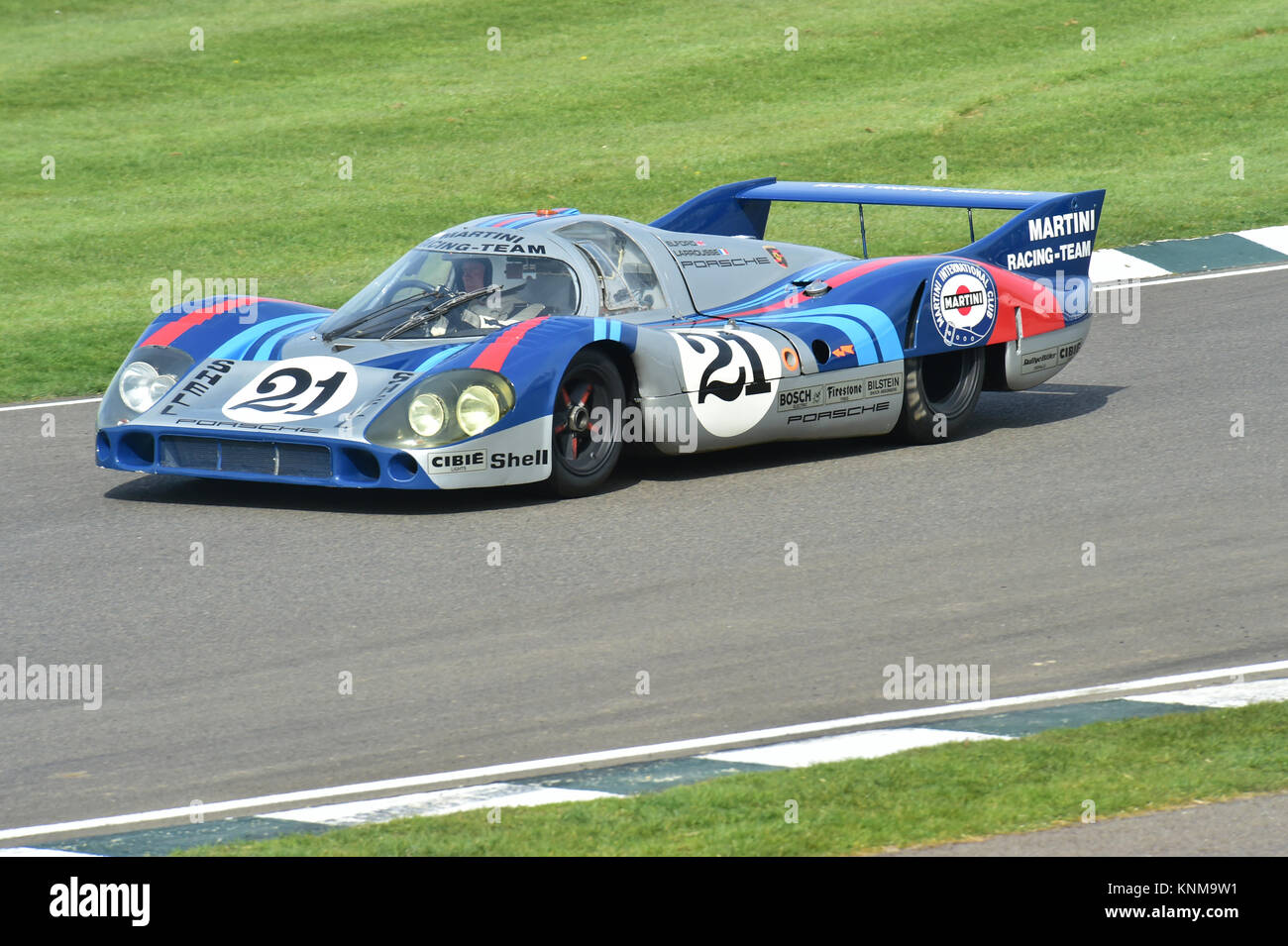 Porsche 917 LH, 72 Mitglieder treffen, Goodwood, GRRC, historische Racing, Motorsport, Motorsport, Goodwood 72nd Stockbild