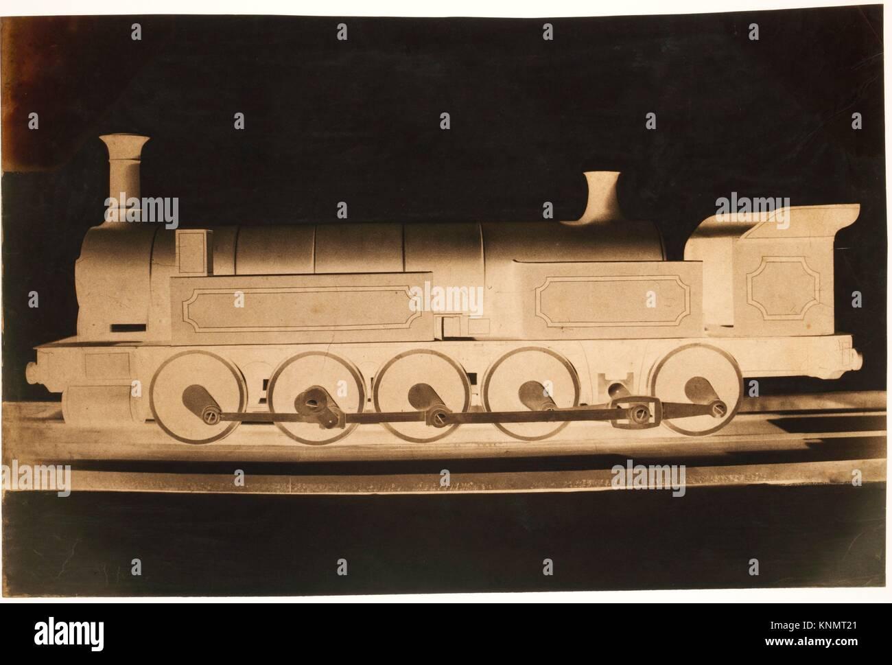 [Modell eines P.L.M. Lokomotive]. Artist: Dominique Roman (Französisch, 1824-1911); Datum: Ca. 1855; Medium: Stockbild