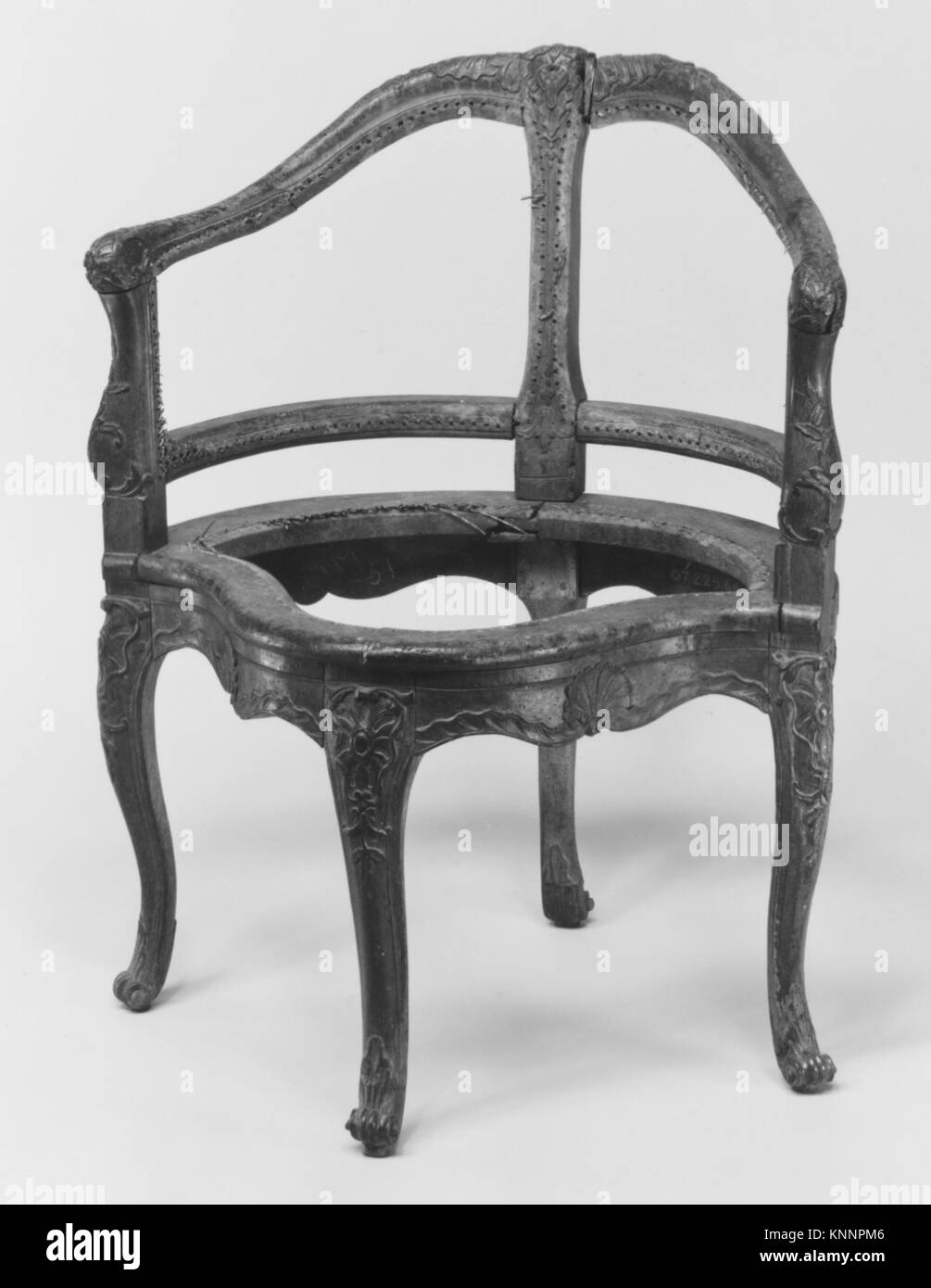 Stuhl Fauteuil De Bureau MET 226339 Schreibtisch 189348 Franzosisch Schreibtischstuhl
