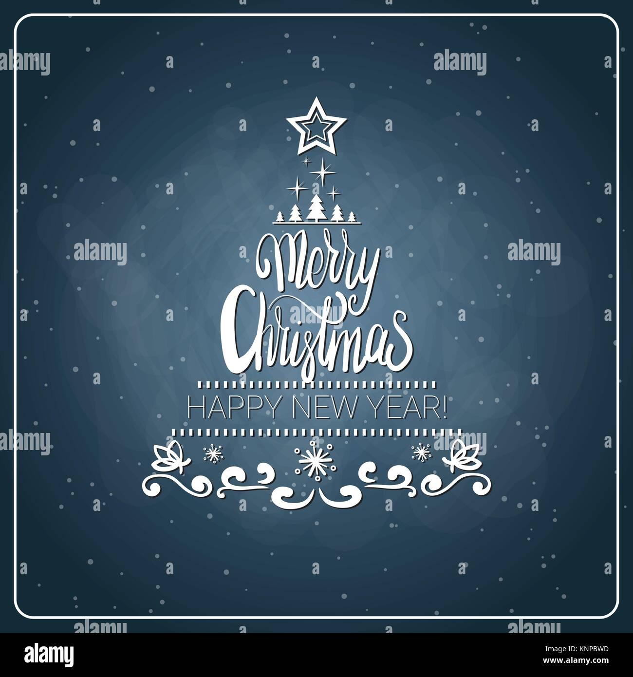 Jahrgang Frohe Weihnachten und guten Rutsch ins Neue Jahr ...