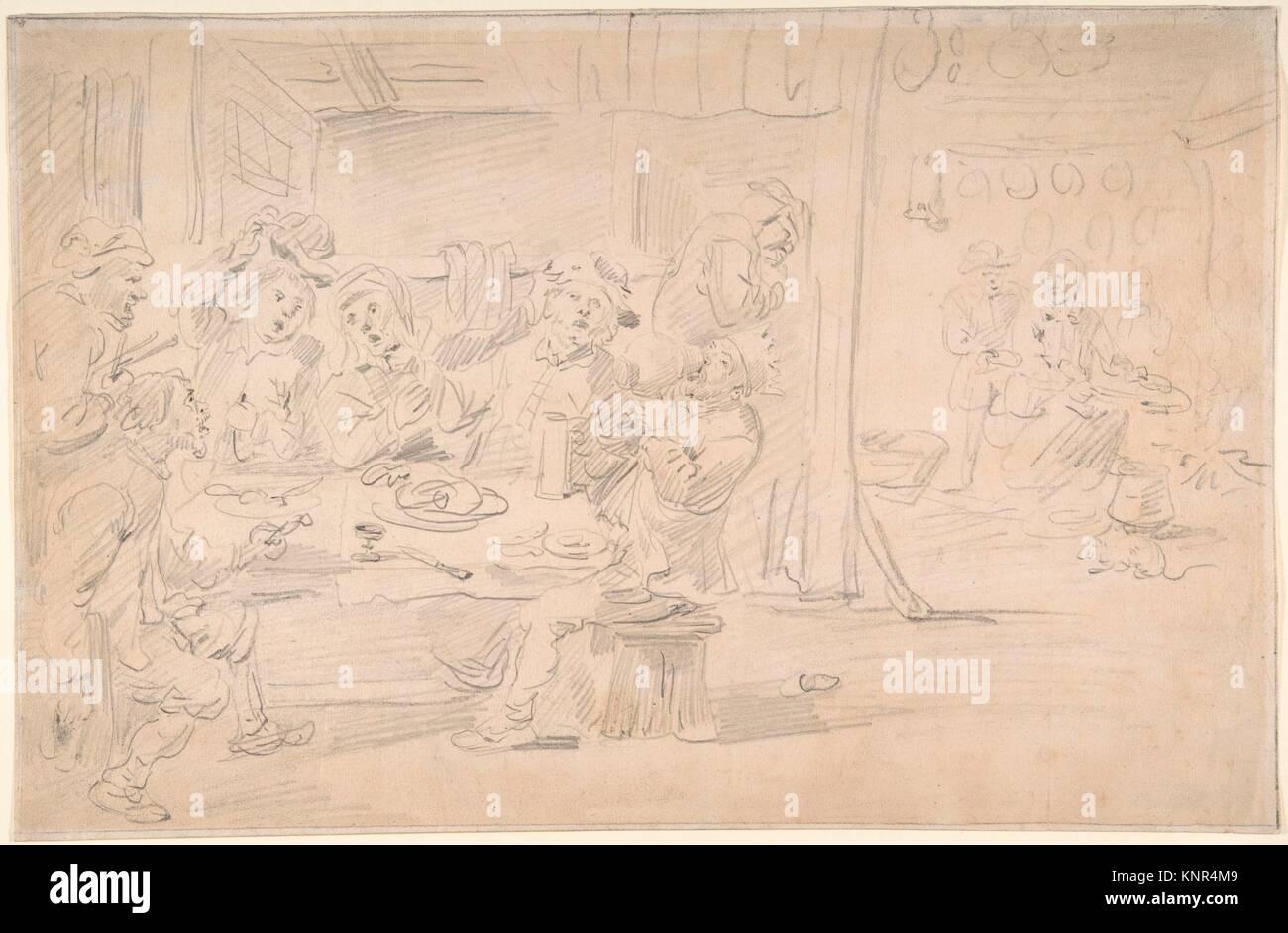 Der König Getränke. Artist: David Teniers der Jüngere (Flandern ...