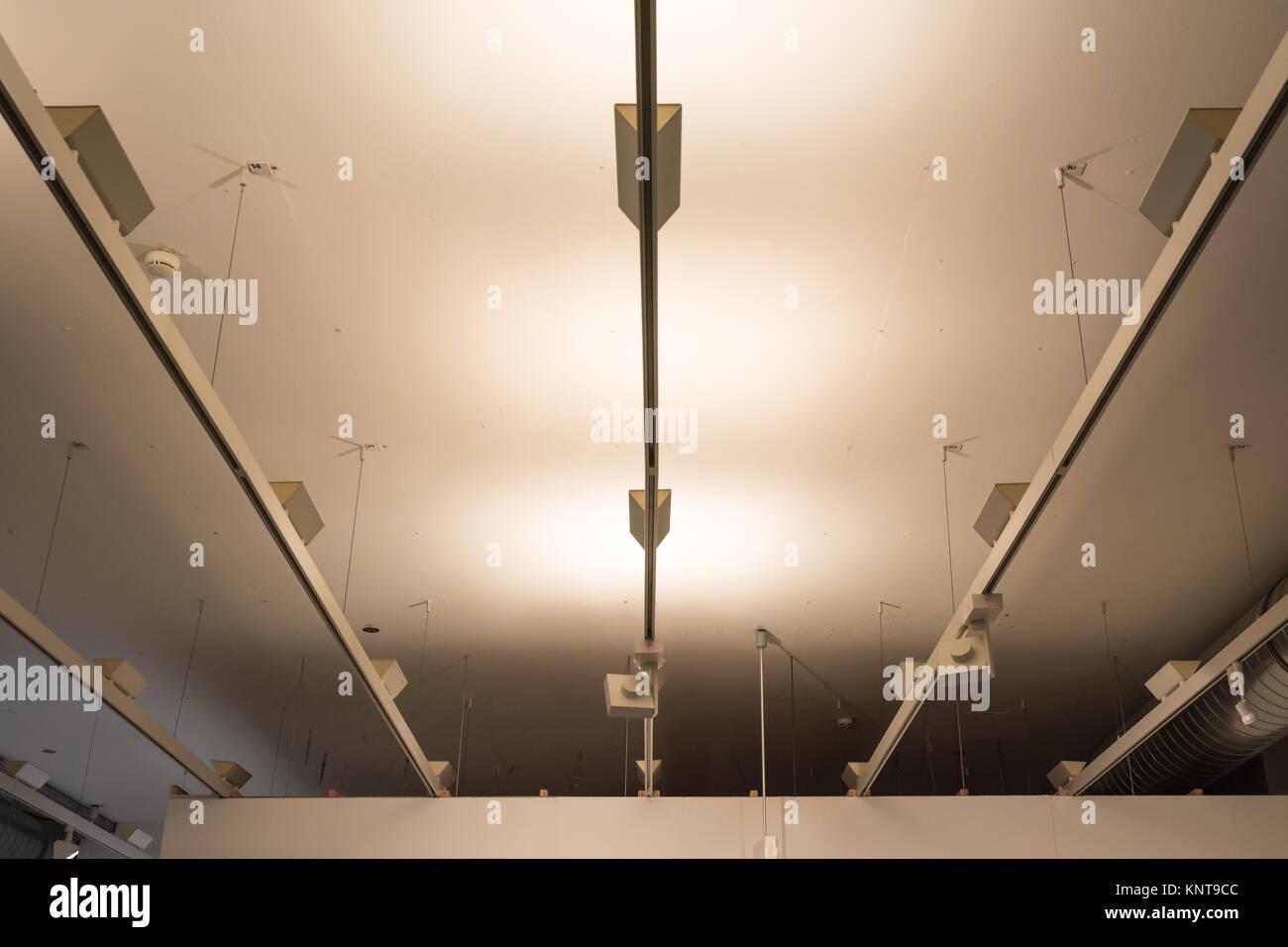 Licht Regale Fluoreszierende Moderne Decke Dekoration Architektur