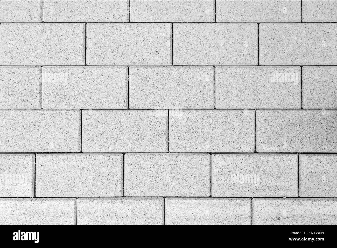muster der pflastersteine von oben in schwarz und wei gesehen - Pflastersteine Muster Bilder