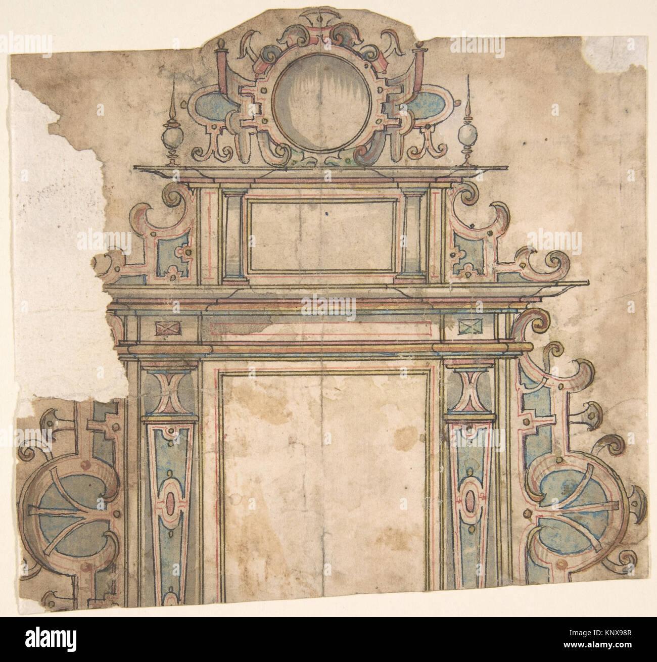 Fragment des Design für architektonische Rahmen MET DP 801701 383348 ...
