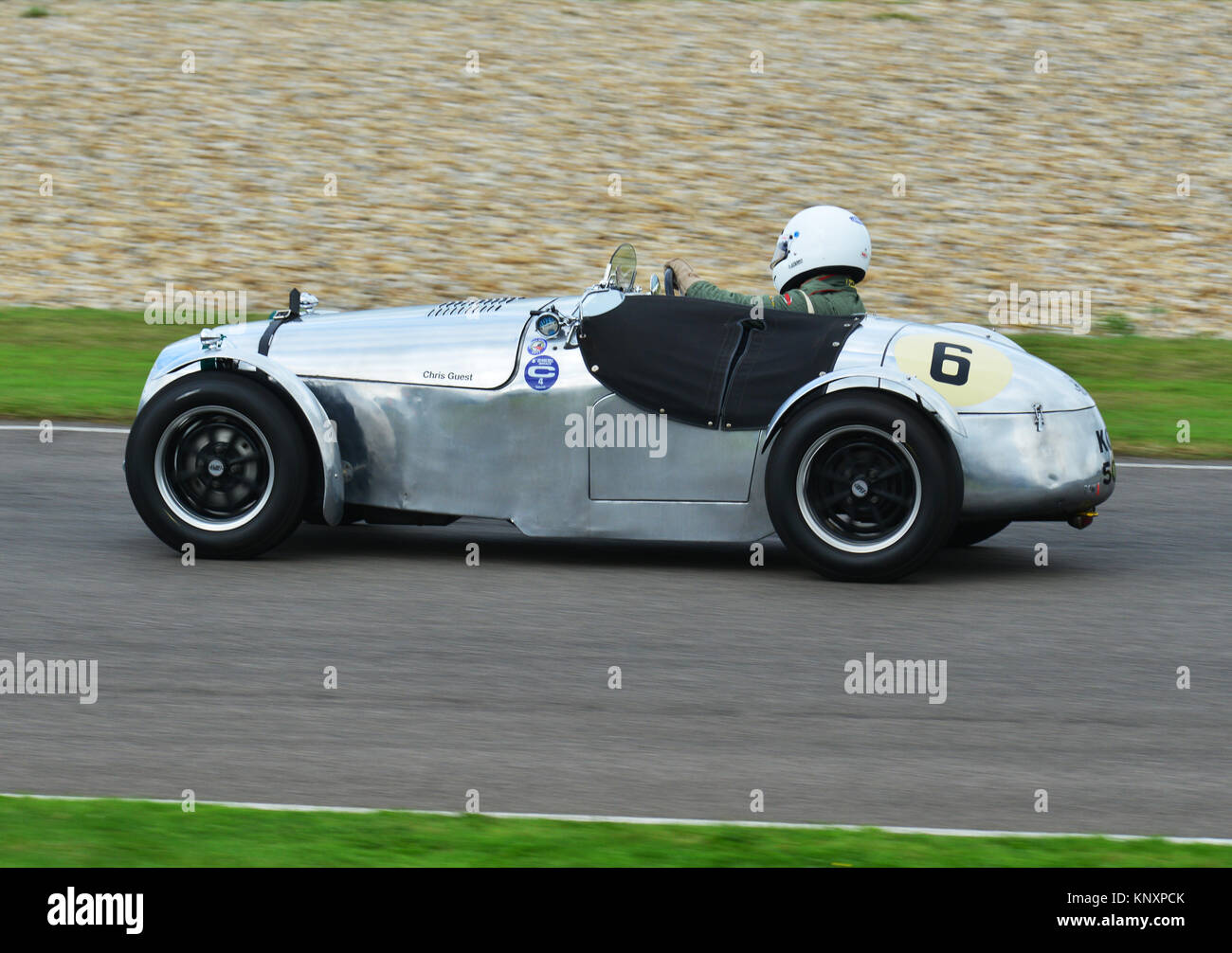 Madgwick Schale, Goodwood Revival 2013 Stockbild
