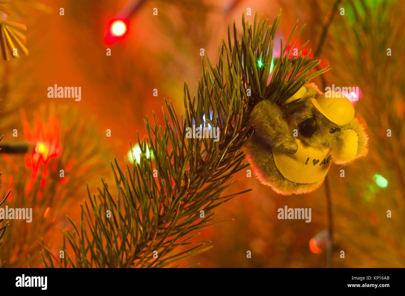 australian christmas decorations stockfotos australian. Black Bedroom Furniture Sets. Home Design Ideas