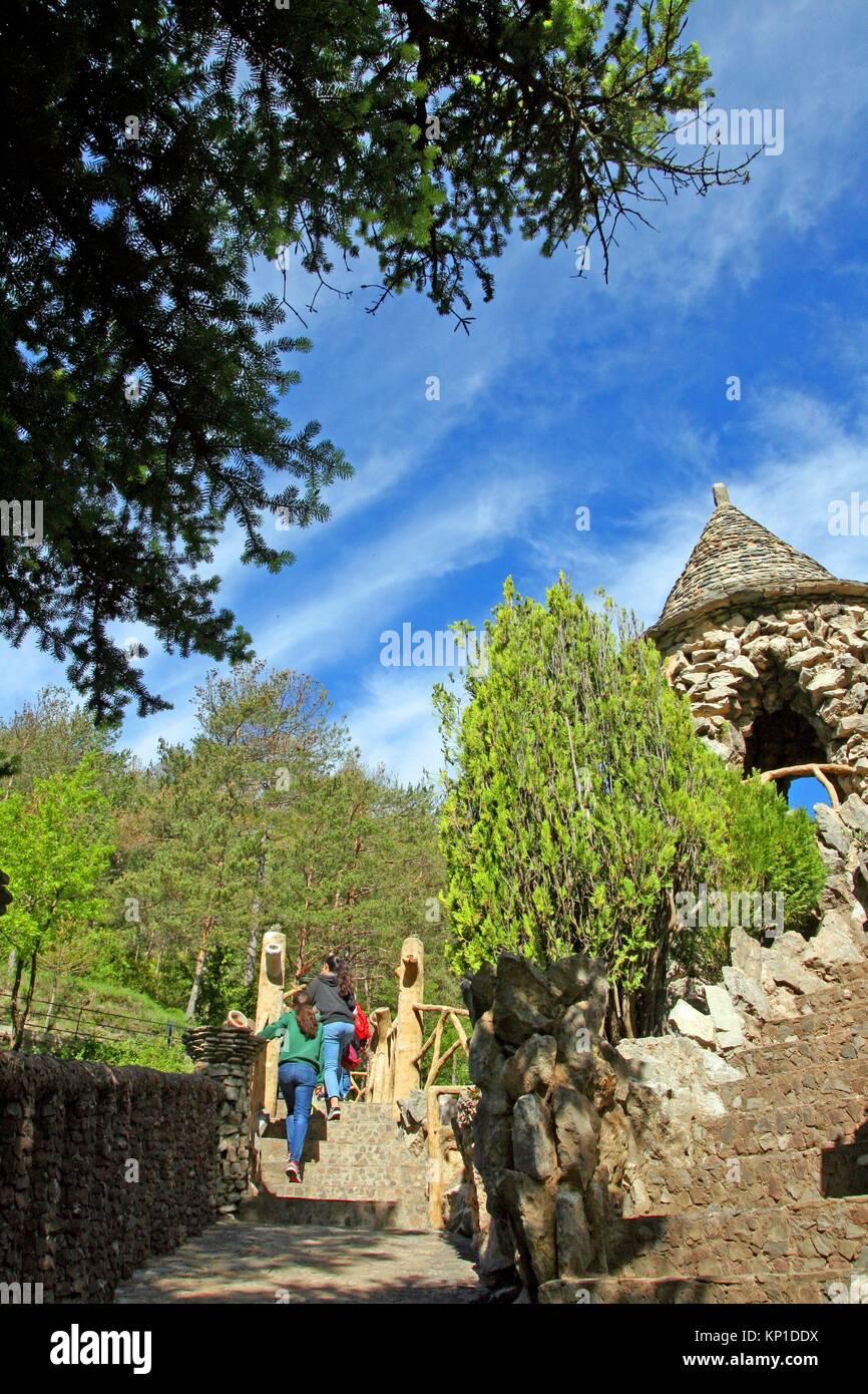 Jardins Artigas (Artigas Gärten), Design von Antoni Gaudi, La Pobla ...