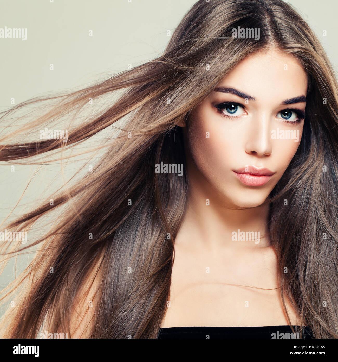 Mädchen haare braune hübsches 17 Hübsche Mädchen