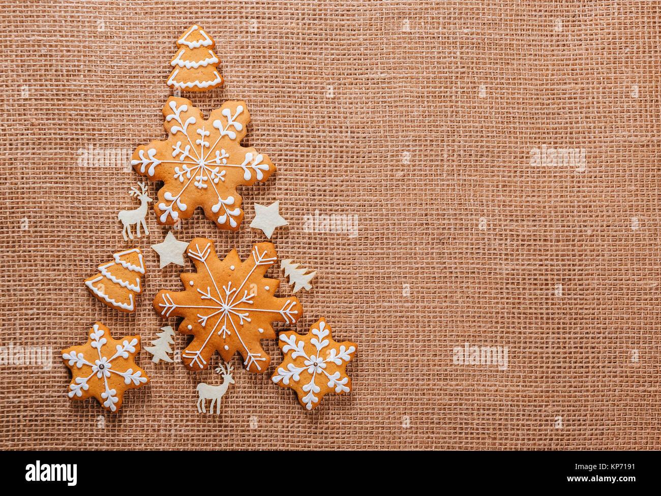 weihnachtsbaum aus lebkuchen cookies hausgemachte und. Black Bedroom Furniture Sets. Home Design Ideas