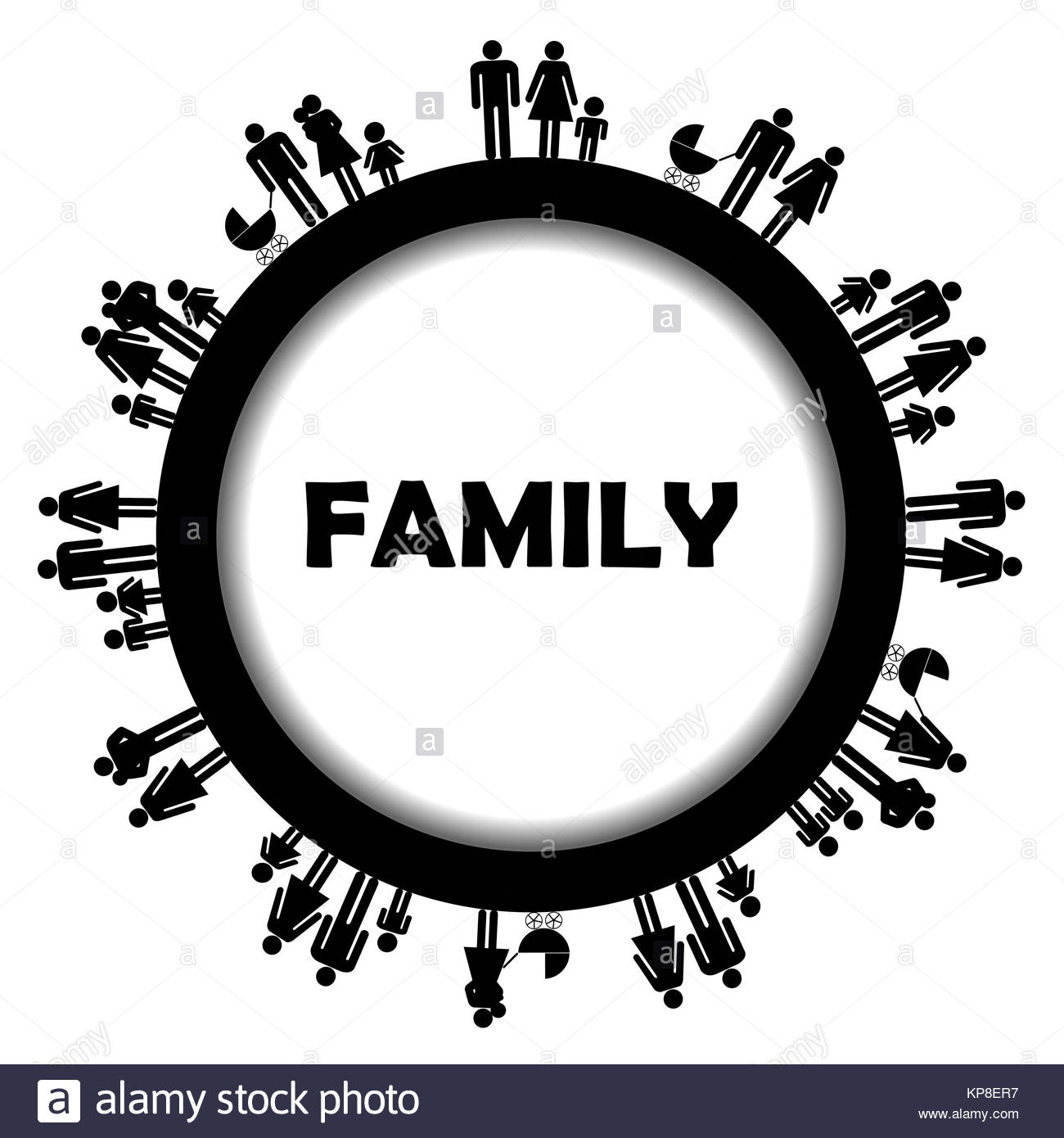 Mom Dad Father Baby Silhouette Stockfotos & Mom Dad Father Baby ...