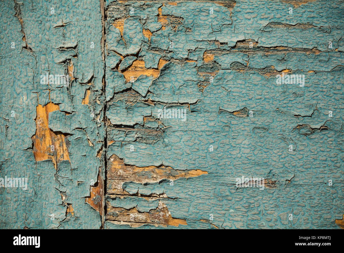 Vintage Holz Tapete Mit Peeling Türkis Farbe