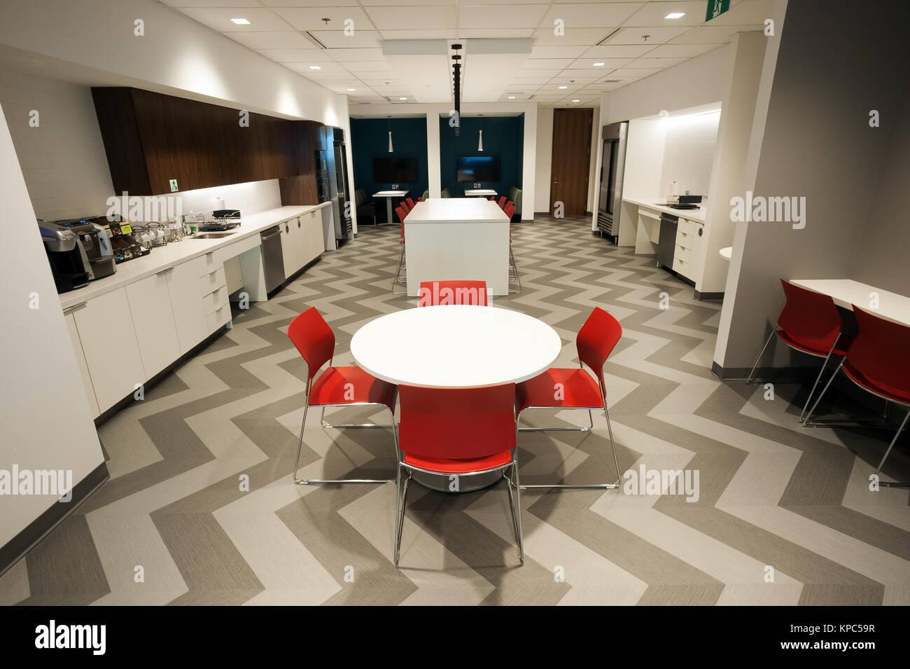Office Interior Kitchen Staff Room Stockfotos & Office Interior ...
