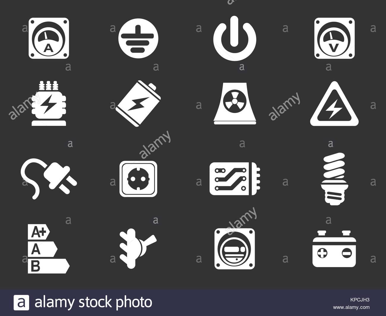 Niedlich Elektroschock Symbol Bilder - Elektrische Schaltplan-Ideen ...