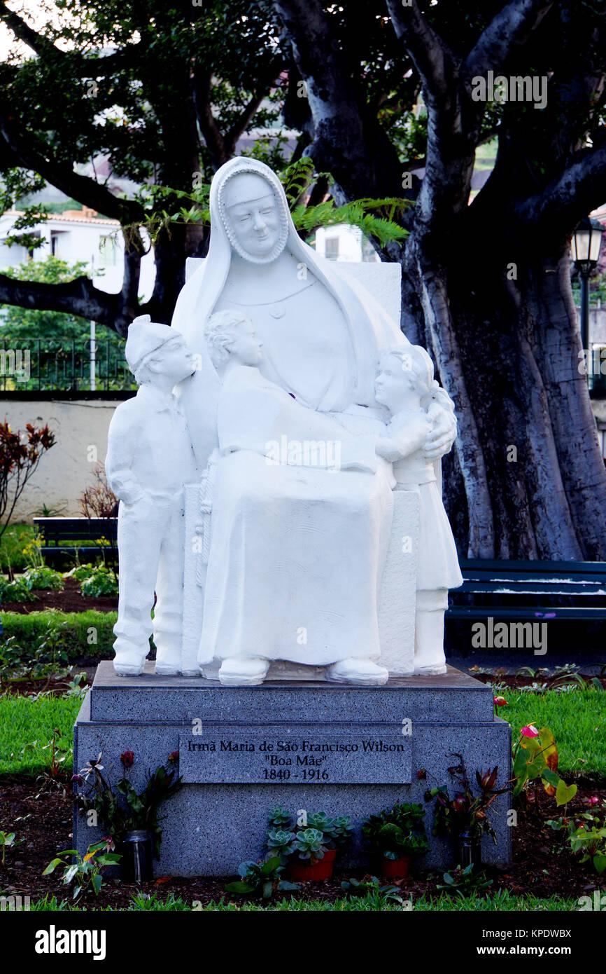 Irma Maria de Sao Francisco wilson Memorial Stockbild