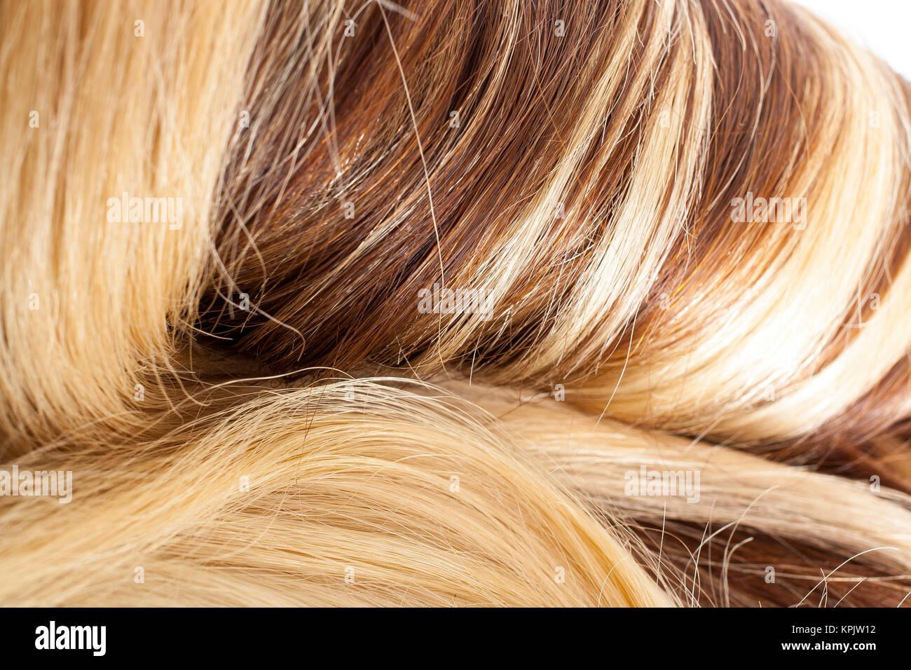 Braun gefarbte haare blond