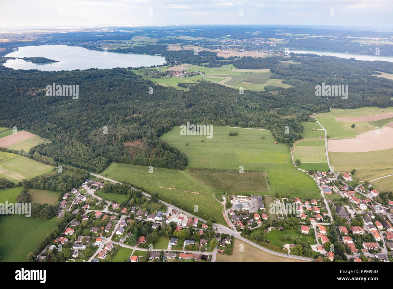 Luftaufnahme Herrsching Am Ammersee München Bayern