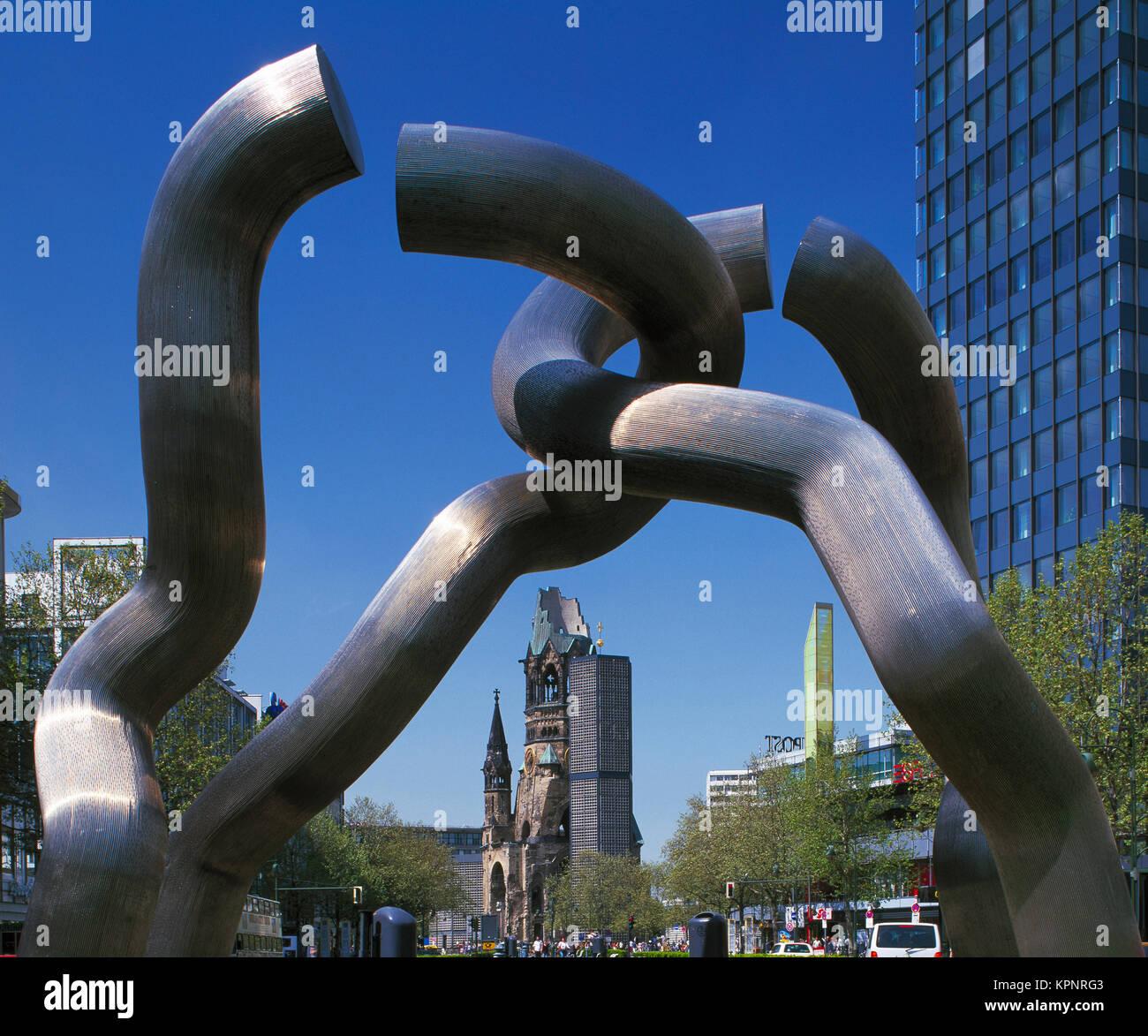 Die Berliner Skulptur, Berlin, Deutschland Stockfoto