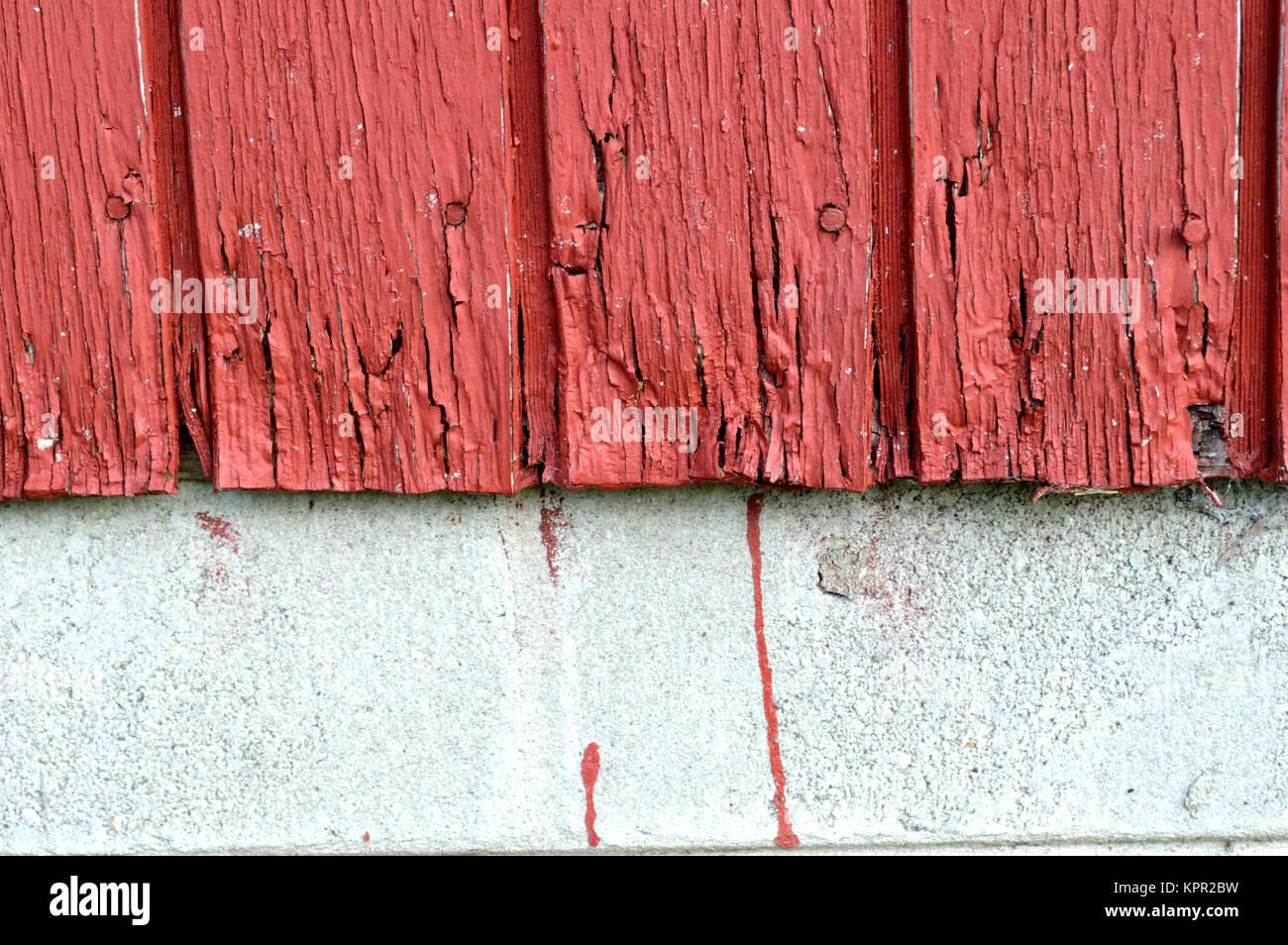 Angebrochen rote Farbe Hintergrund Stockbild