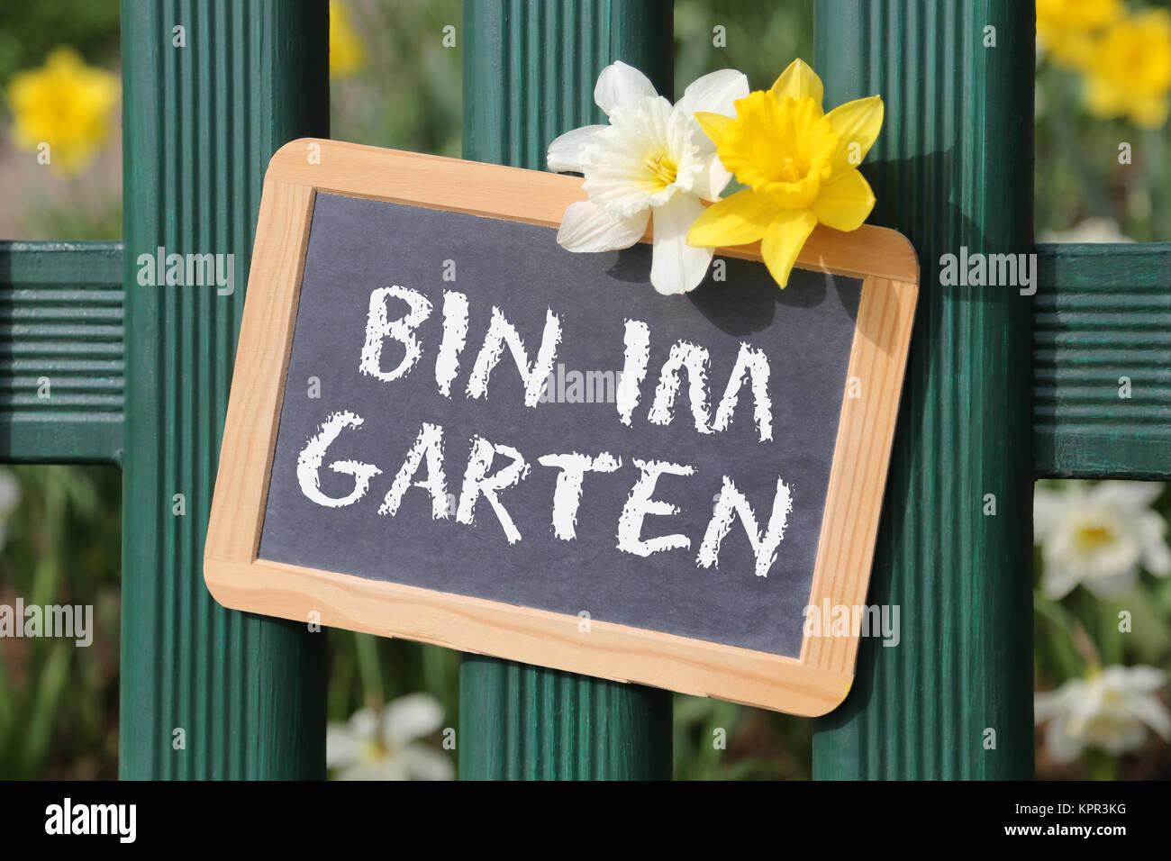 Bin Ich Im Garten Stockfotos Bin Ich Im Garten Bilder Alamy