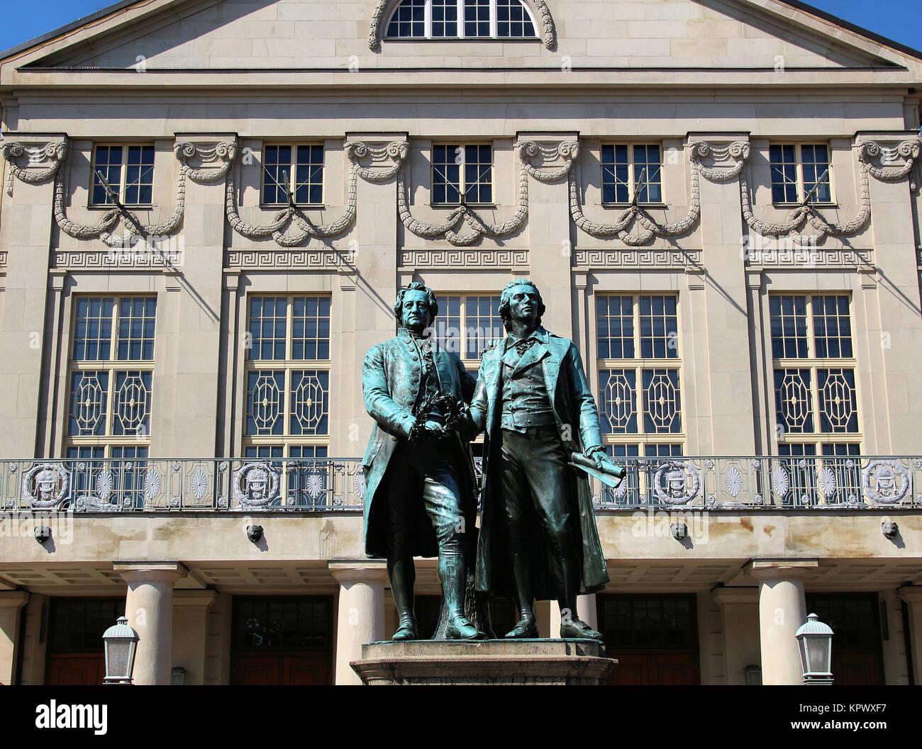 Schiller Denkmal Stockfotos & Schiller Denkmal Bilder - Alamy