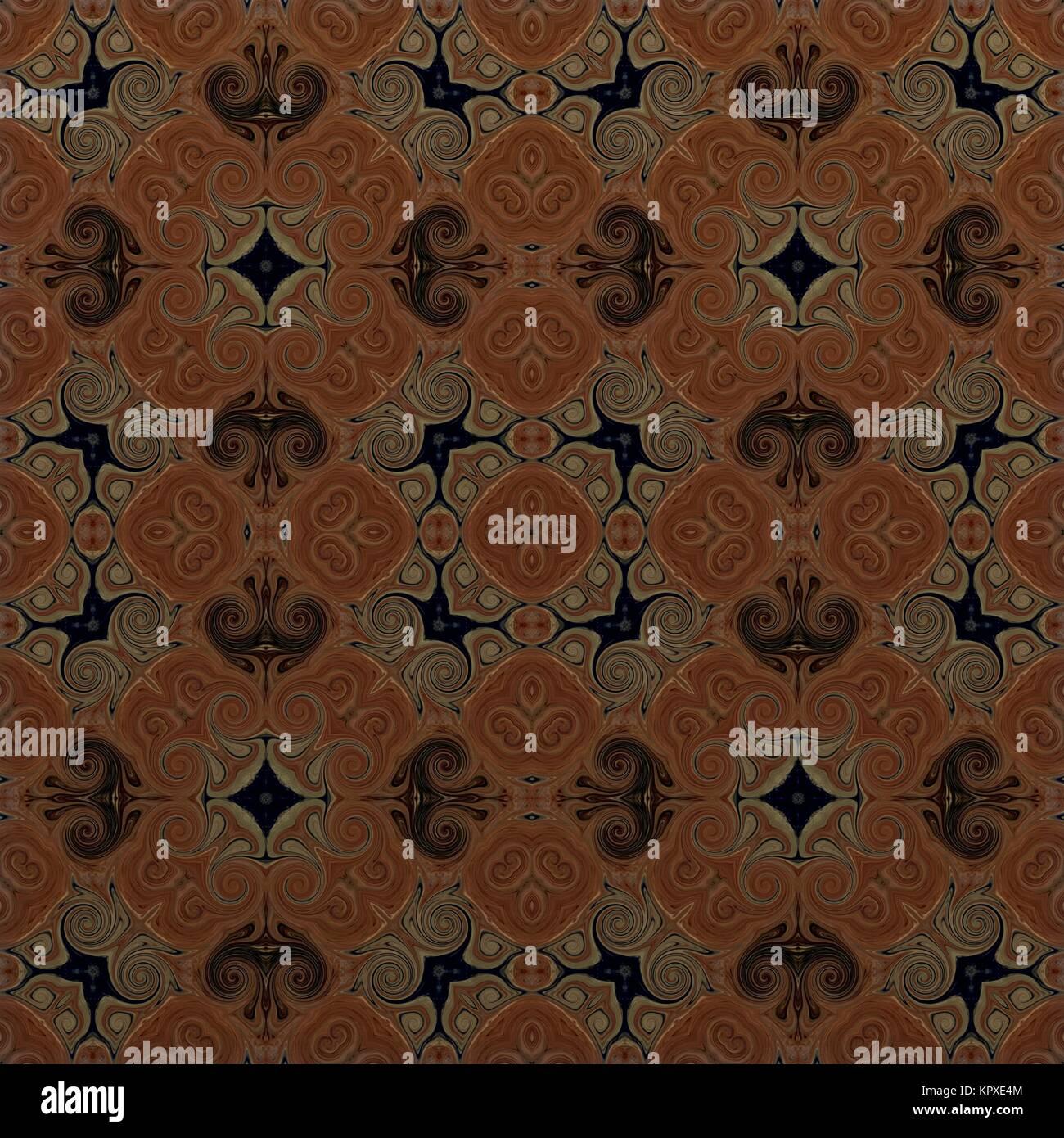 Kombinationsraster Muster im arabischen Stil Blume psychedelic ...