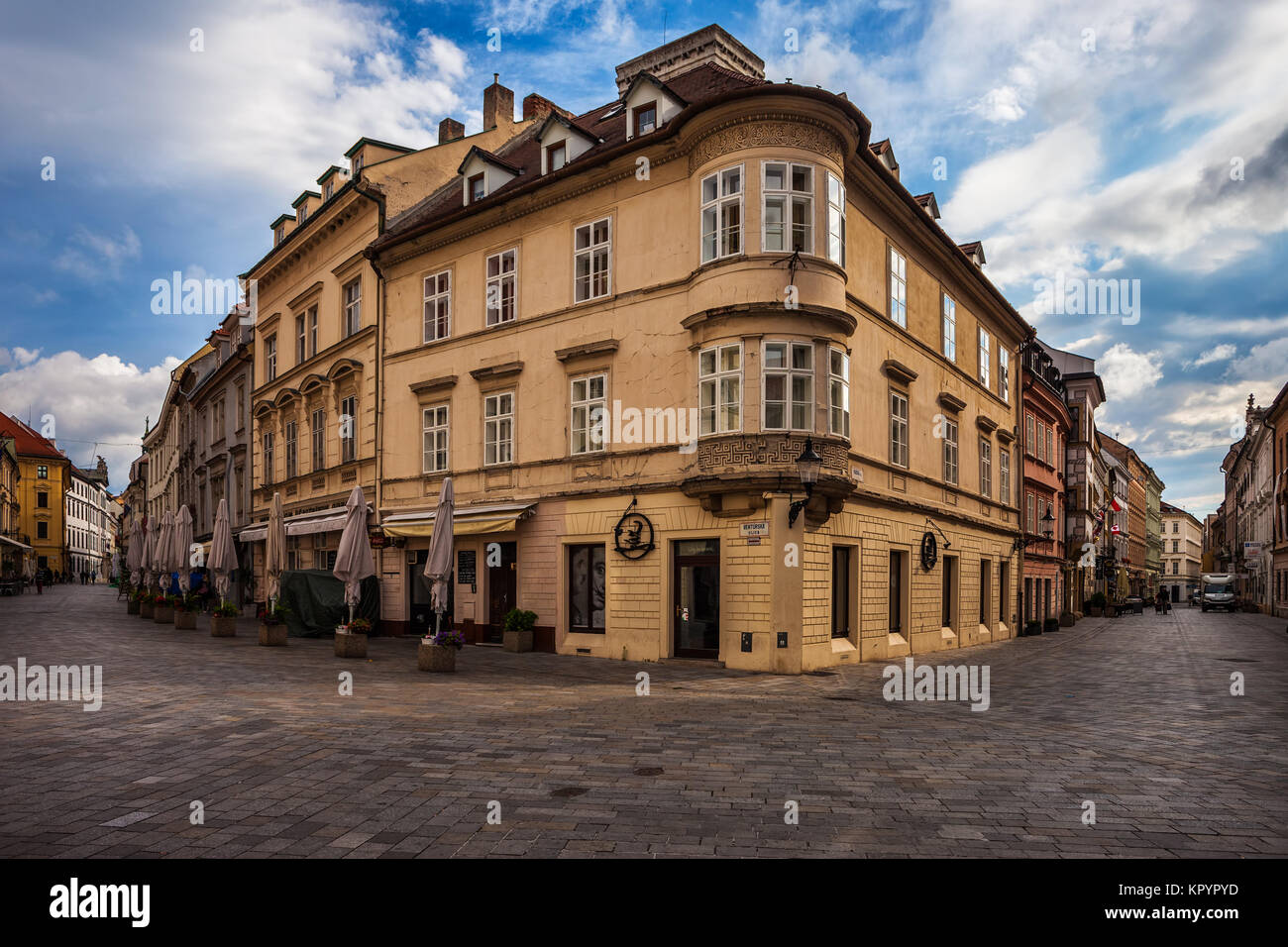 streets of bratislava stockfotos streets of bratislava bilder alamy. Black Bedroom Furniture Sets. Home Design Ideas