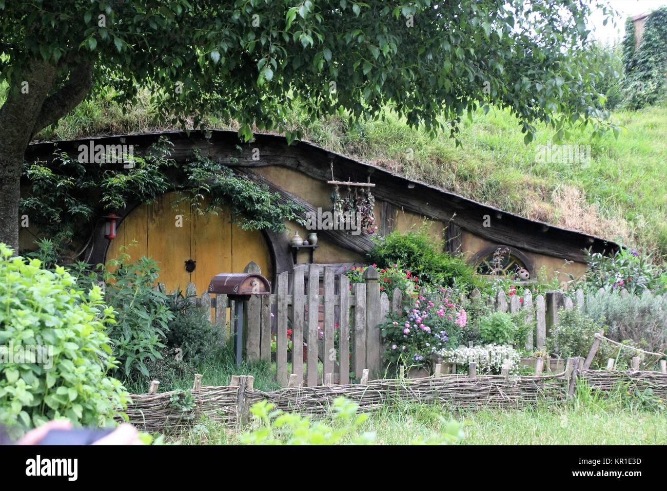 Hobbit Haus hobbit haus in hobbiton stockfoto bild 169063425 alamy