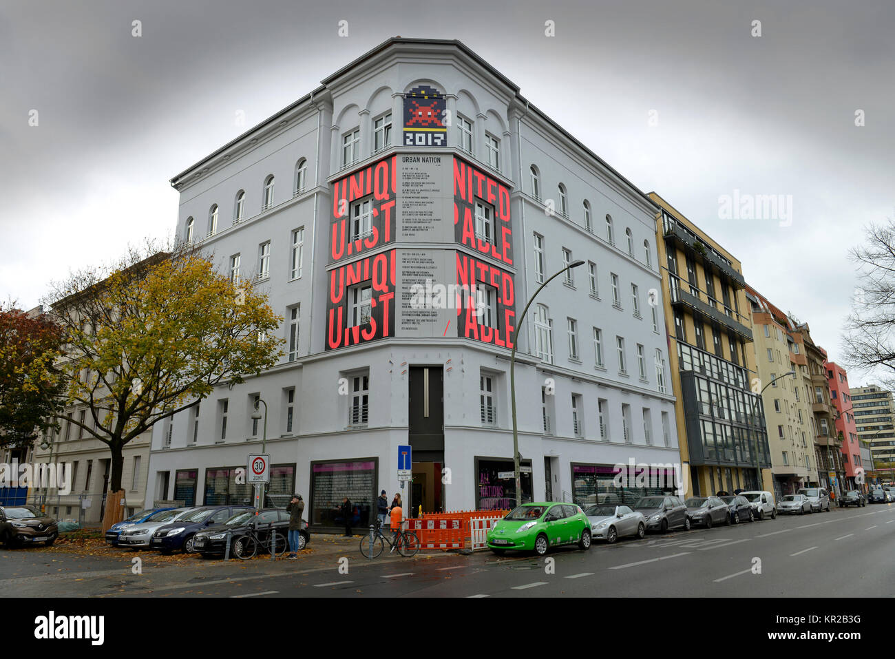 Urbane nation Museum, B? lowstrasse, Schönheit, Berg, Berlin, Deutschland, städtische Nation Museum, Buelowstrasse, Stockbild
