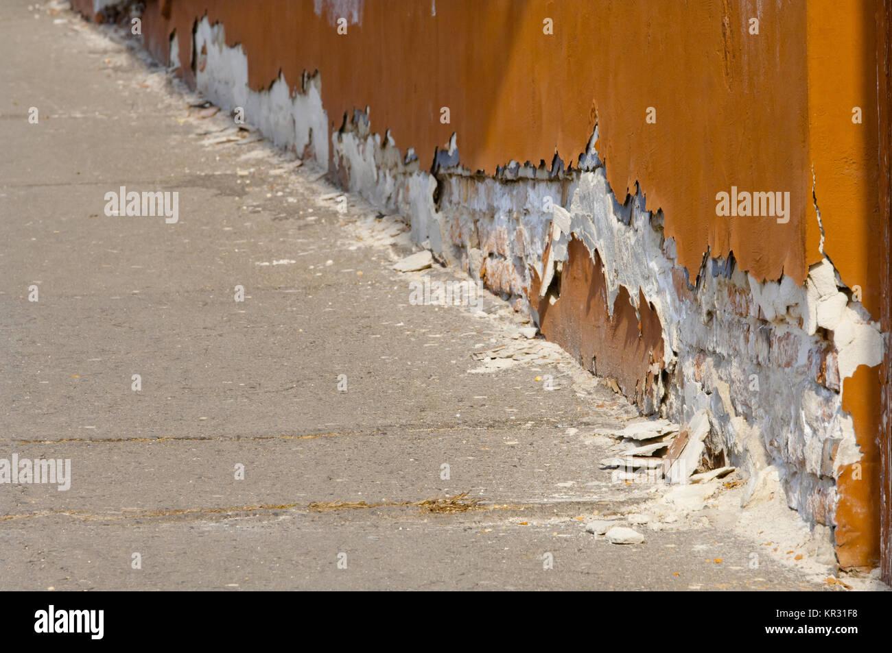 Berühmt Salpeter Salpeter oder auf alten grunge Wand Grundlage Stockfoto YB72