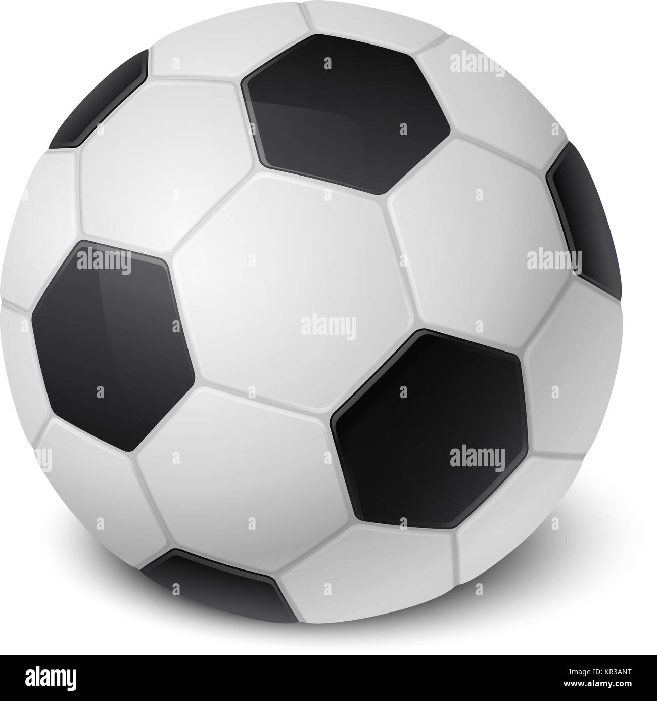Vector Soccer Ball Clipart Stockfotos Vector Soccer Ball