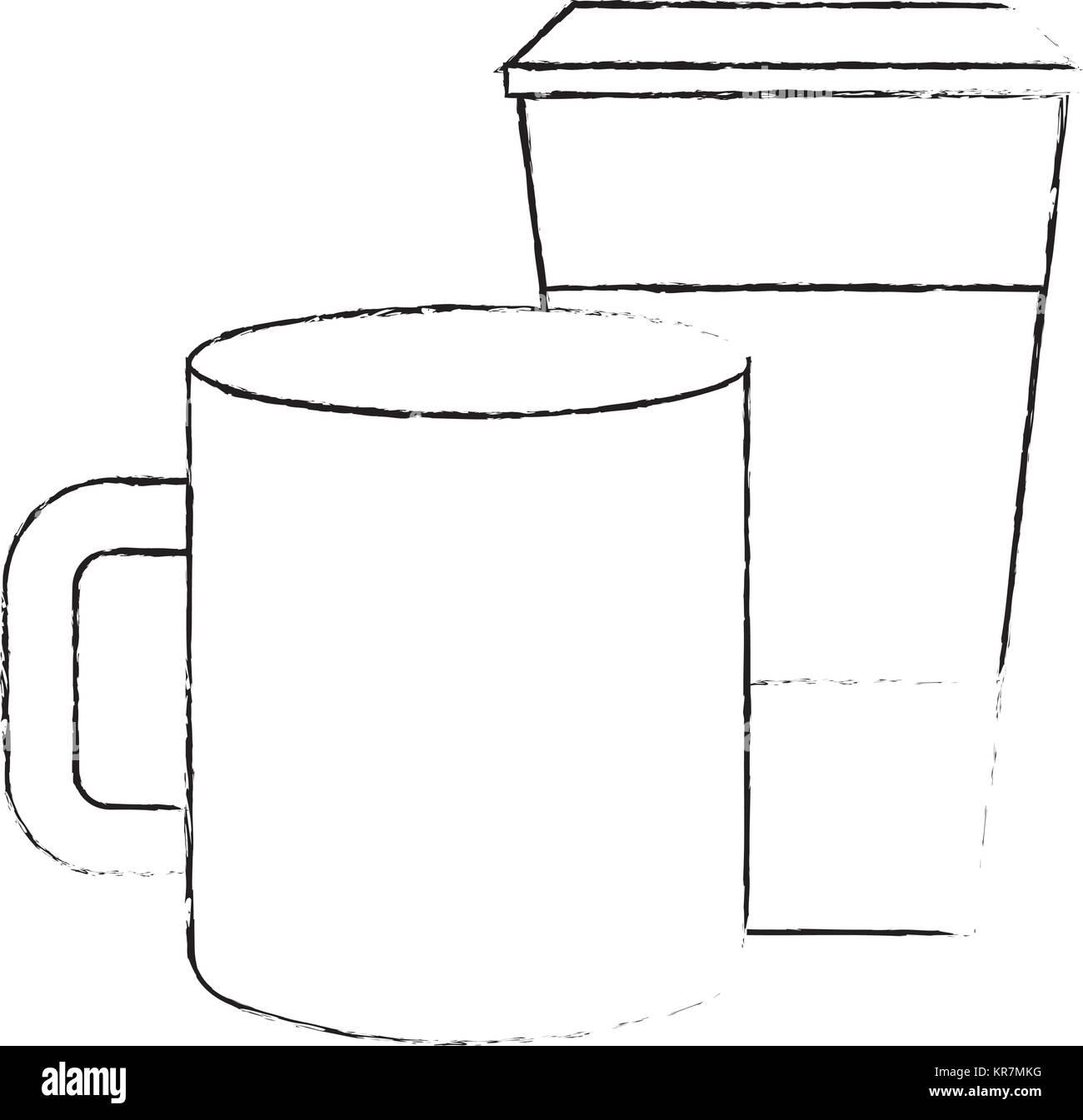 Niedlich Papier Kaffeetasse Malvorlagen Zeitgenössisch - Framing ...